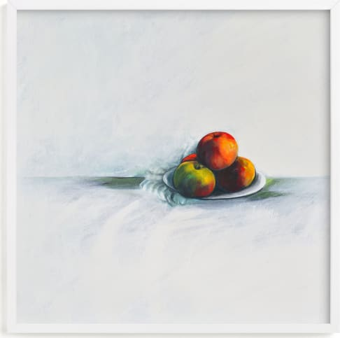 This is a yellow art by Magdi Mushriqui called Come to the Table.