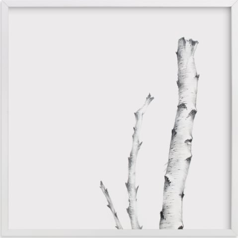 This is a black and white art by jinseikou called BIRCH.