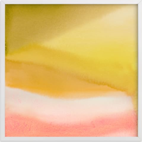 This is a yellow art by A Real Peach Studio called Endless summer.