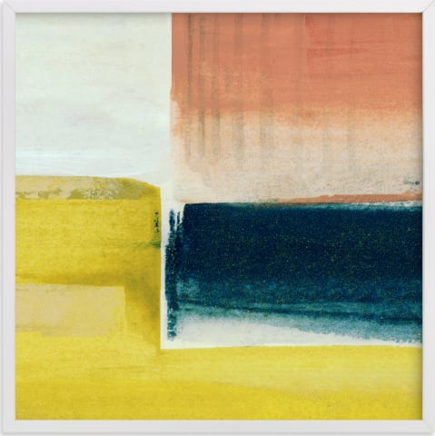 This is a blue art by Mande Calhoun called James.