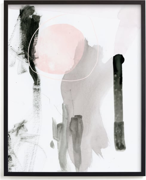 This is a white art by Lori Wemple called Son.