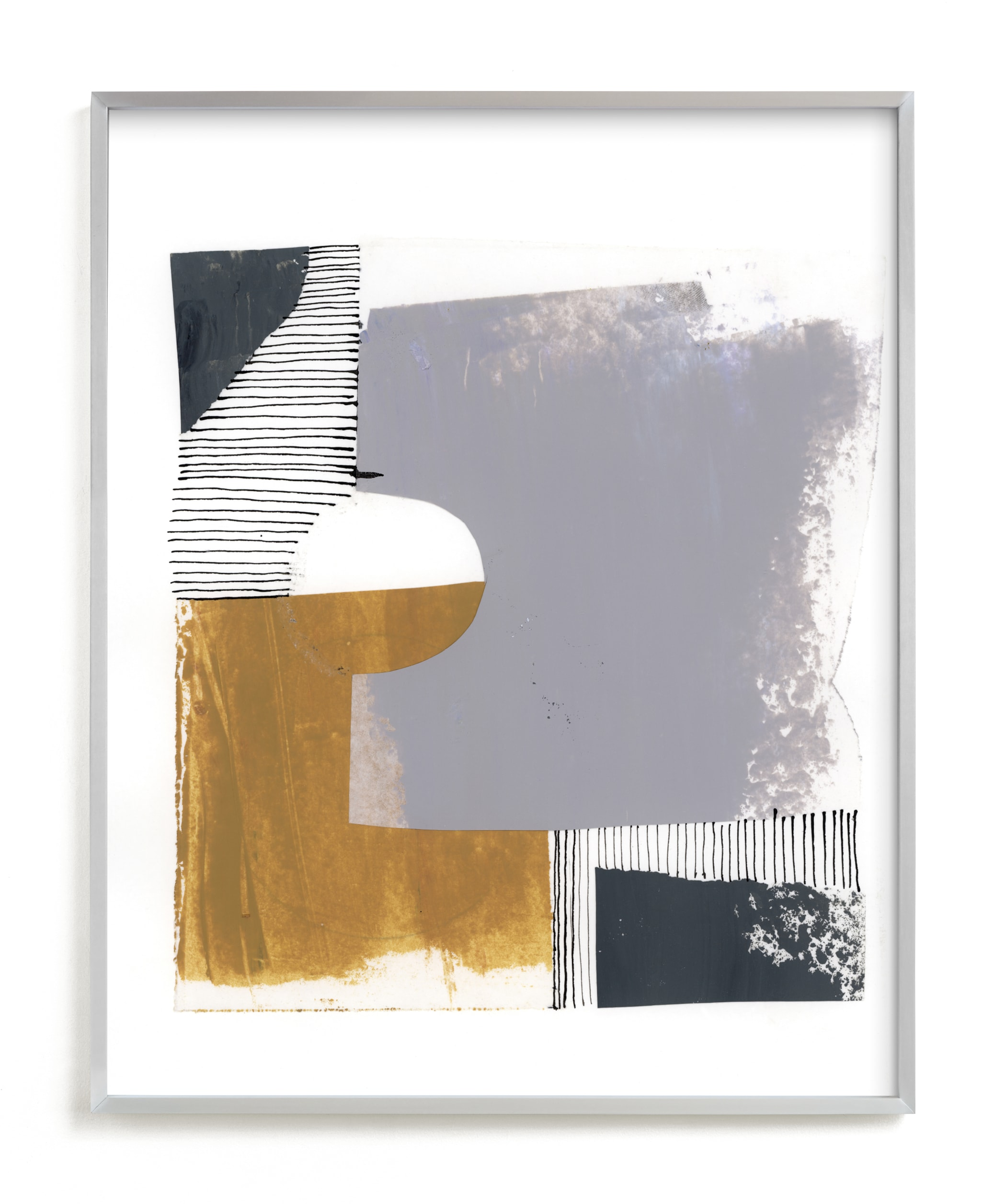 """""""Urban block 1"""" - Limited Edition Art Print by Bethania Lima in beautiful frame options and a variety of sizes."""