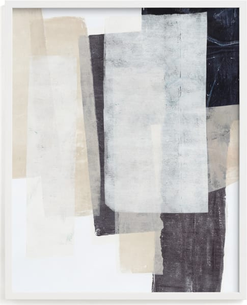 This is a white by Jennifer Daily called History Repeats.