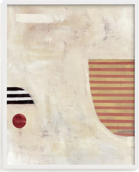 This is a white by Keren Toledano called DROP THE BALL.