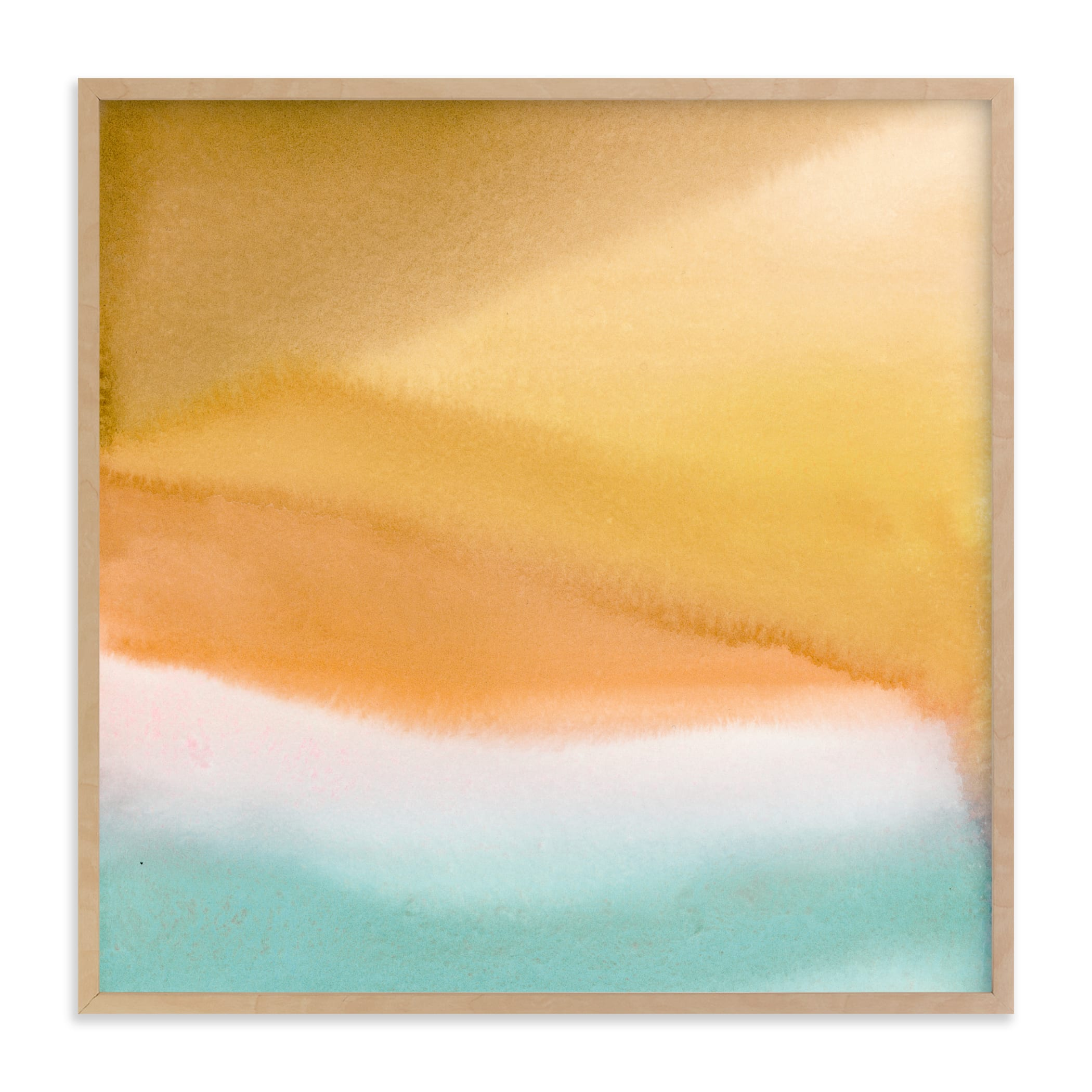 """Endless summer"" - Limited Edition Art Print by A Real Peach Studio in beautiful frame options and a variety of sizes."