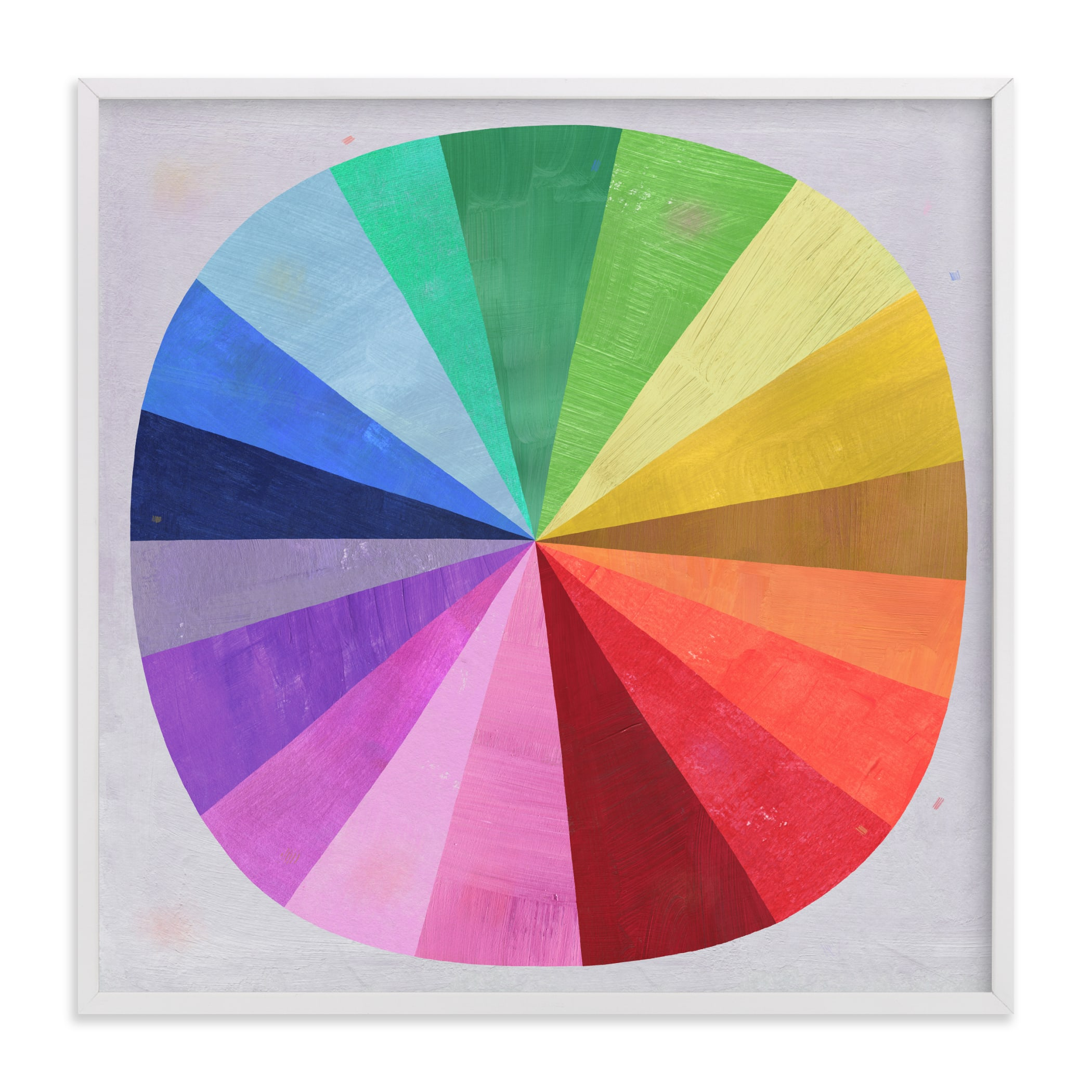 Color Wheel Wall Art Prints By Melanie Mikecz Minted