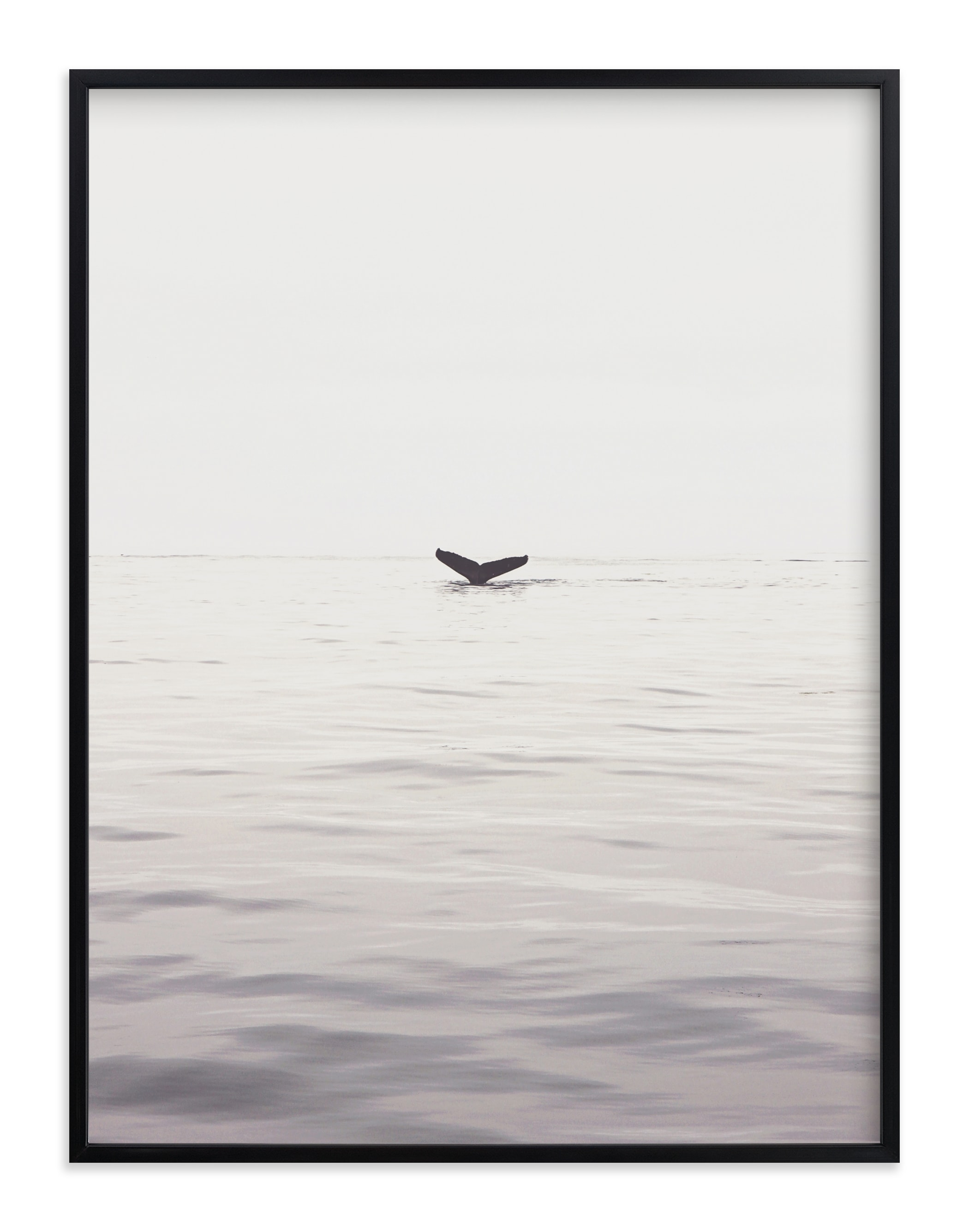 """""""A Humpback Tale"""" - Limited Edition Art Print by Joelle Segal in beautiful frame options and a variety of sizes."""