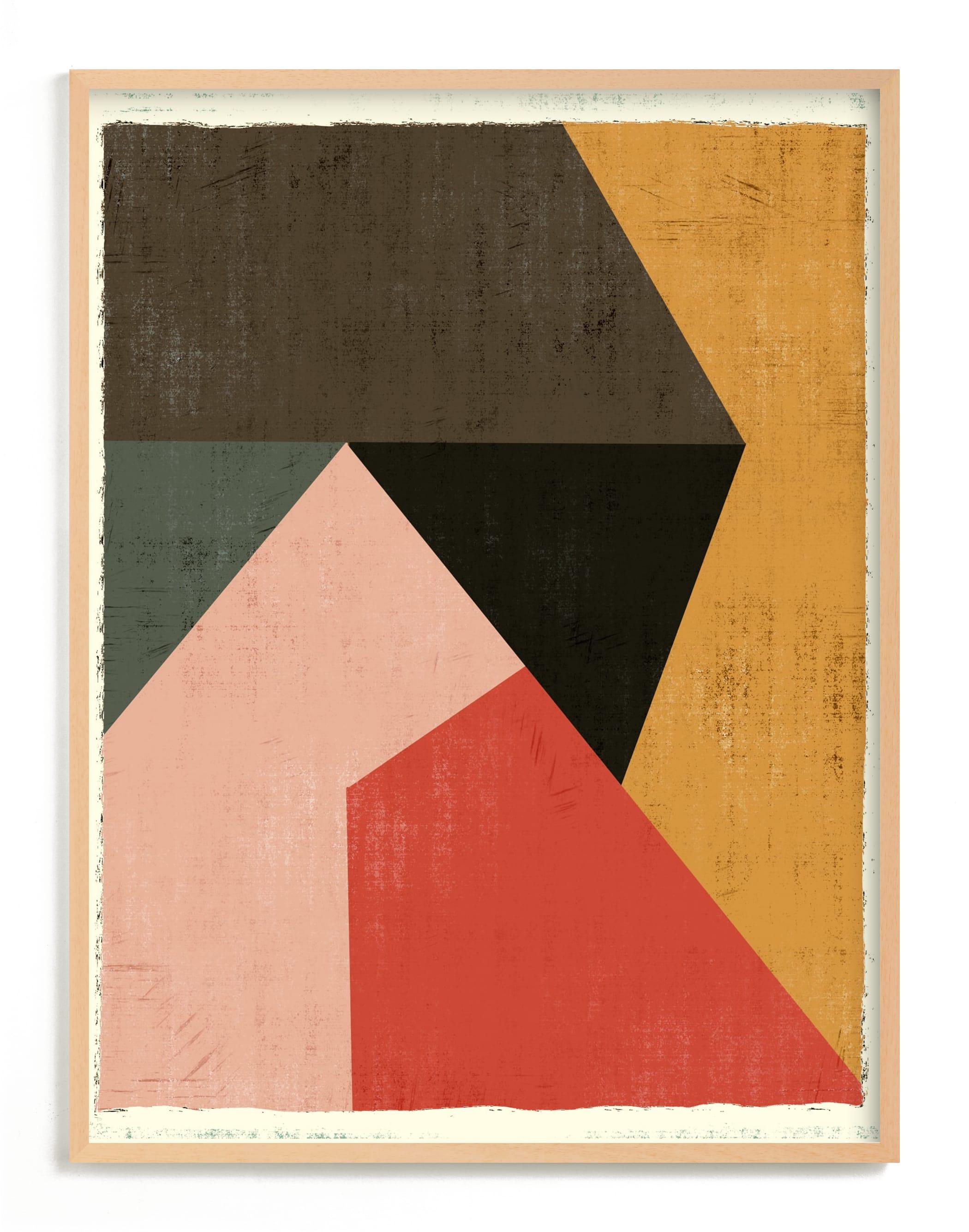 Geo Abstract Art Print