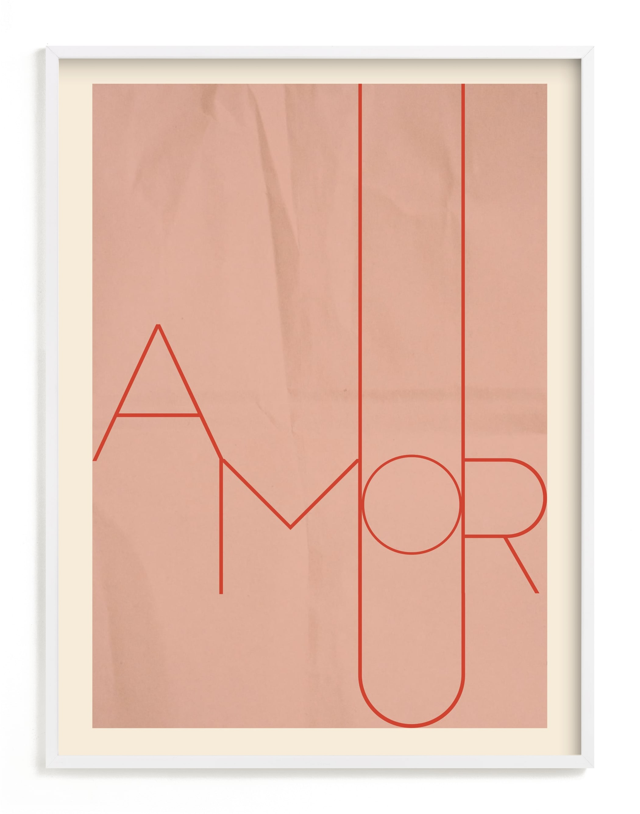 """""""Amour"""" - Limited Edition Art Print by Morgan Kendall in beautiful frame options and a variety of sizes."""