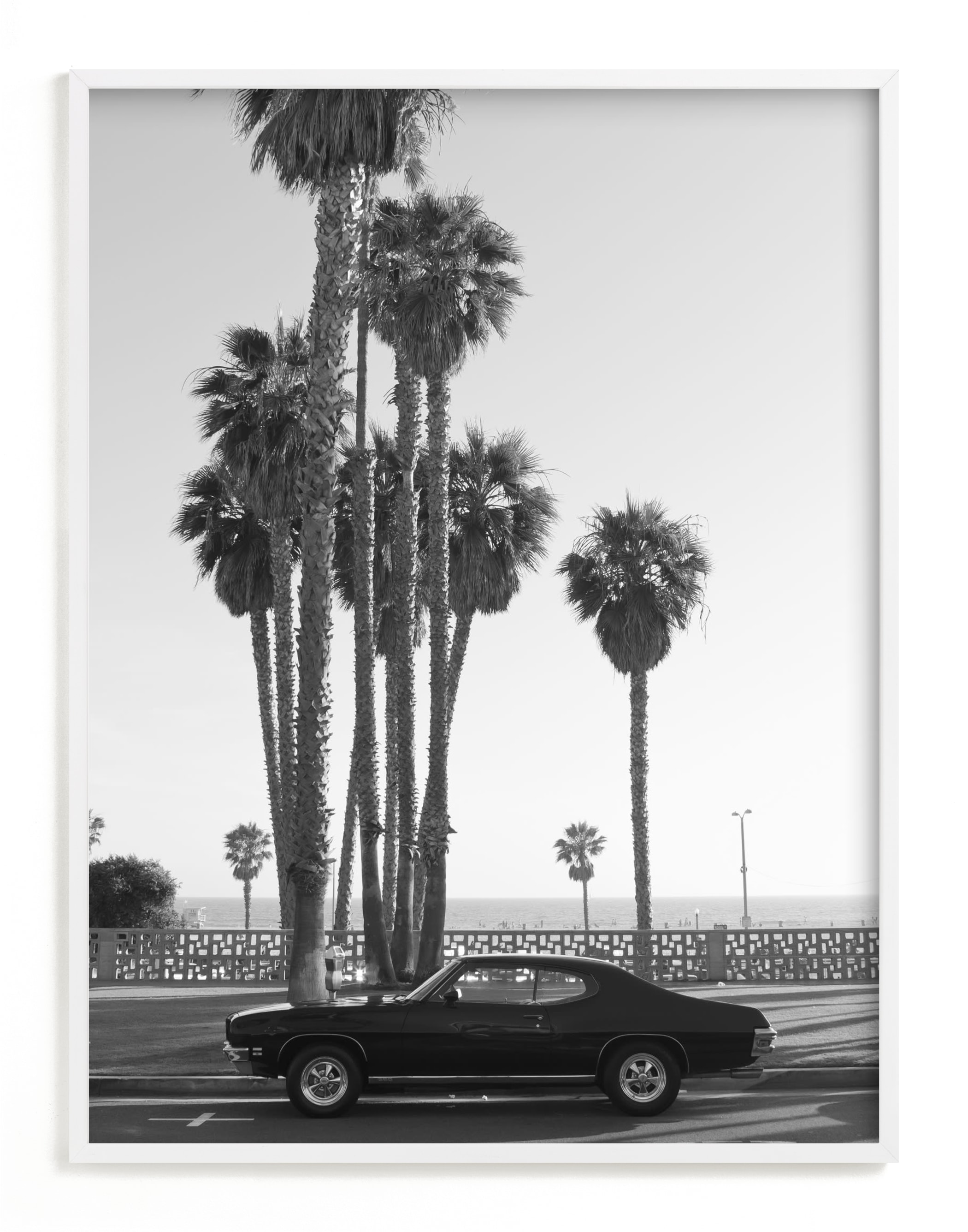 """Ocean Avenue"" - Limited Edition Art Print by Kaitlin Rebesco in beautiful frame options and a variety of sizes."