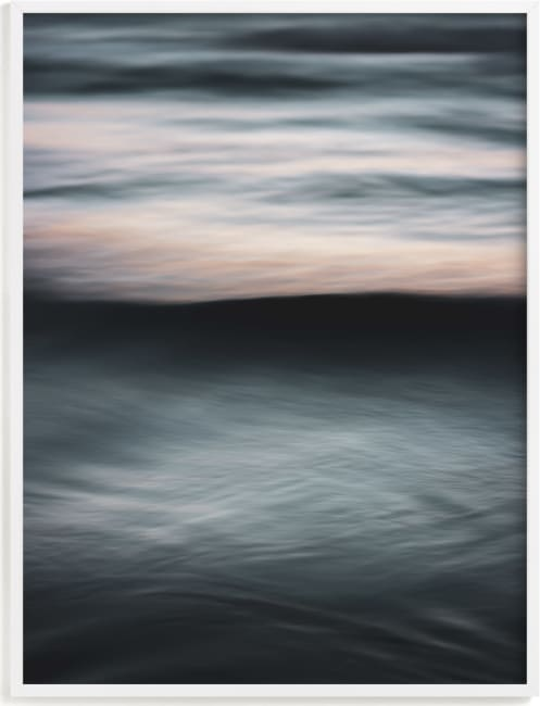 This is a black art by Tal Paz-Fridman called The Uniqueness of Waves XXVIII.