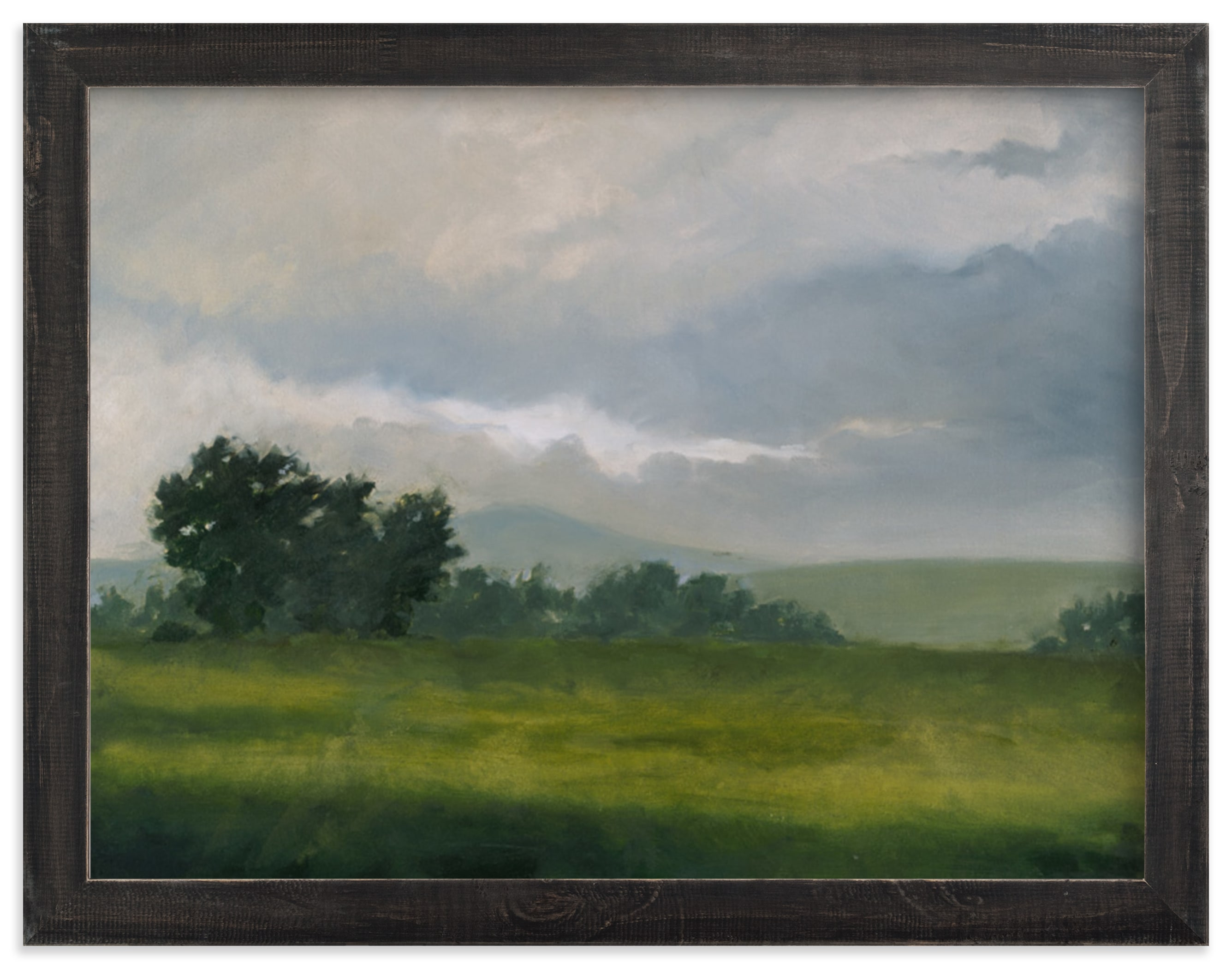 """Broken Clouds"" - Limited Edition Art Print by Stephanie Goos Johnson in beautiful frame options and a variety of sizes."
