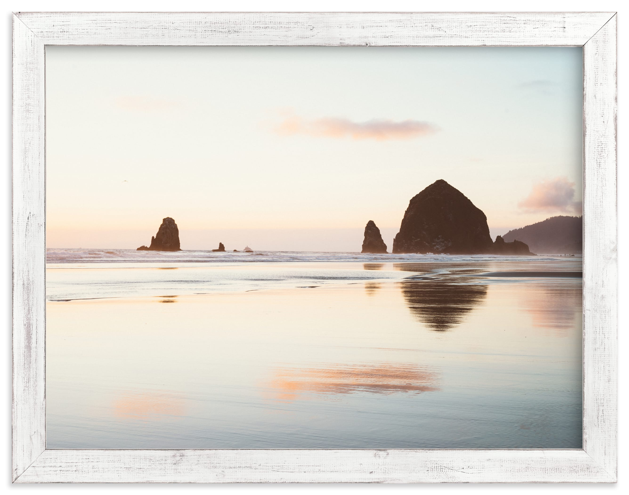 """Cannon Beach No. 1"" - Limited Edition Art Print by Kamala Nahas in beautiful frame options and a variety of sizes."