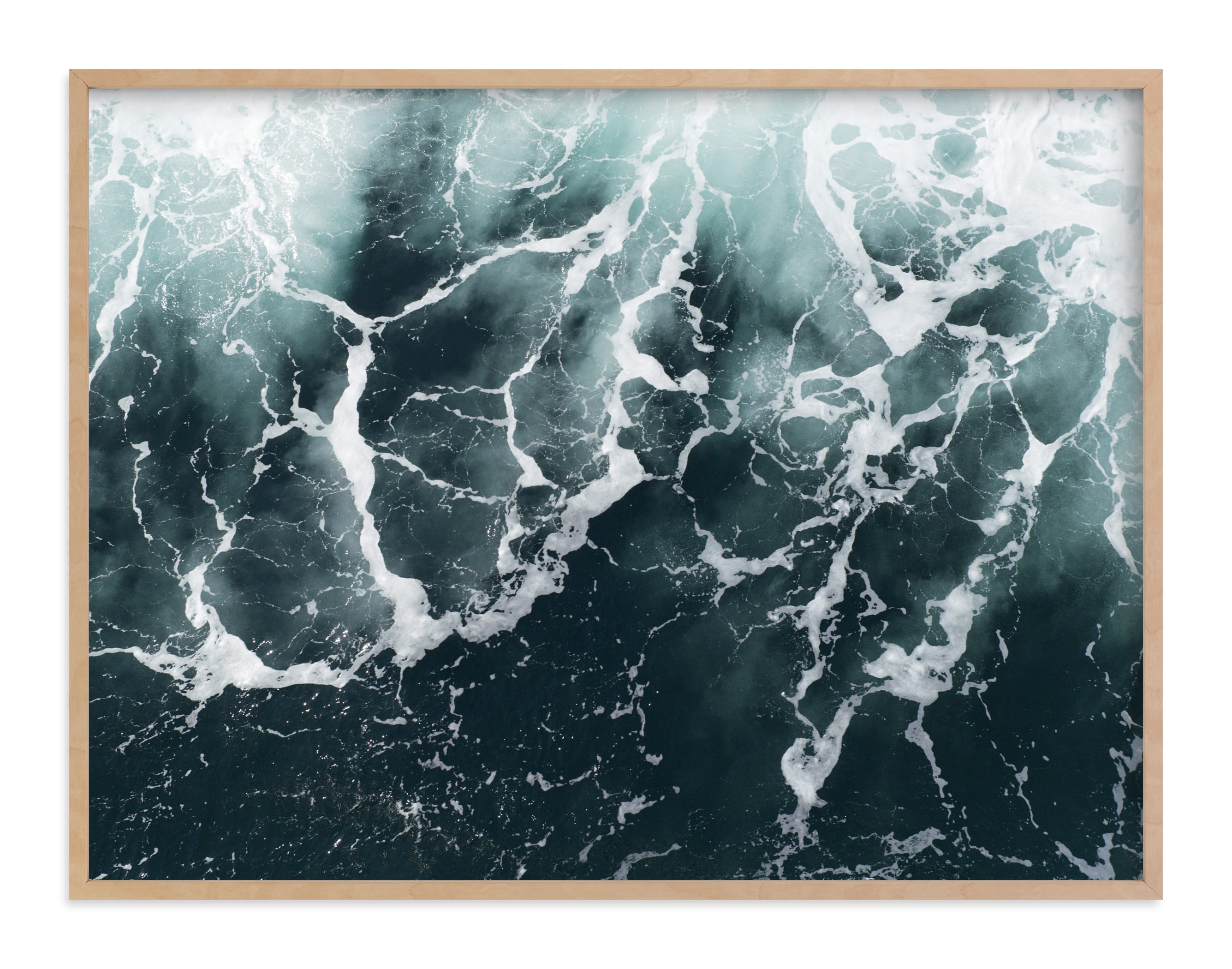"""""""Wave Patterns"""" - Limited Edition Art Print by Tommy Kwak in beautiful frame options and a variety of sizes."""