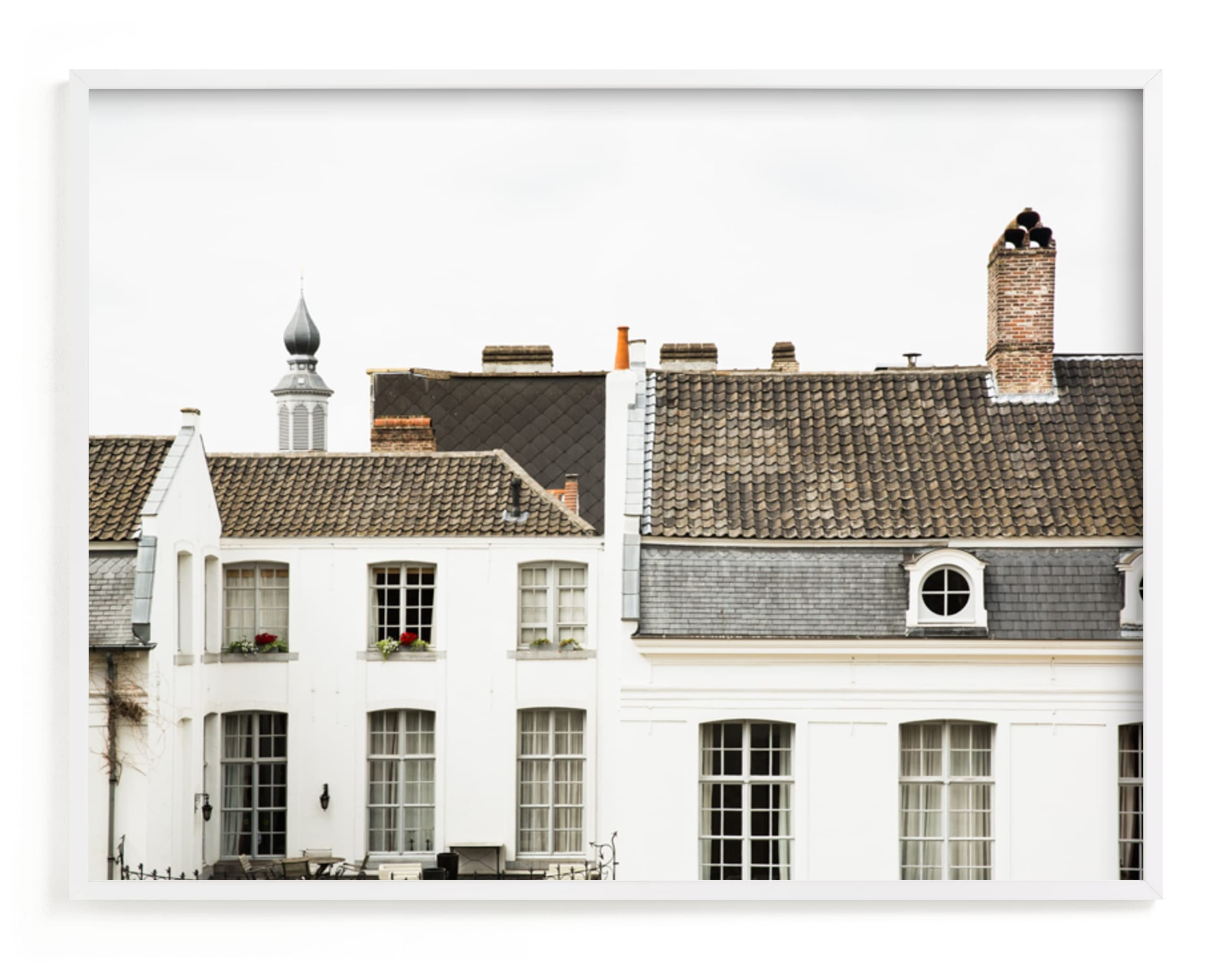 """""""Ghent"""" - Limited Edition Art Print by Heather Deffense in beautiful frame options and a variety of sizes."""