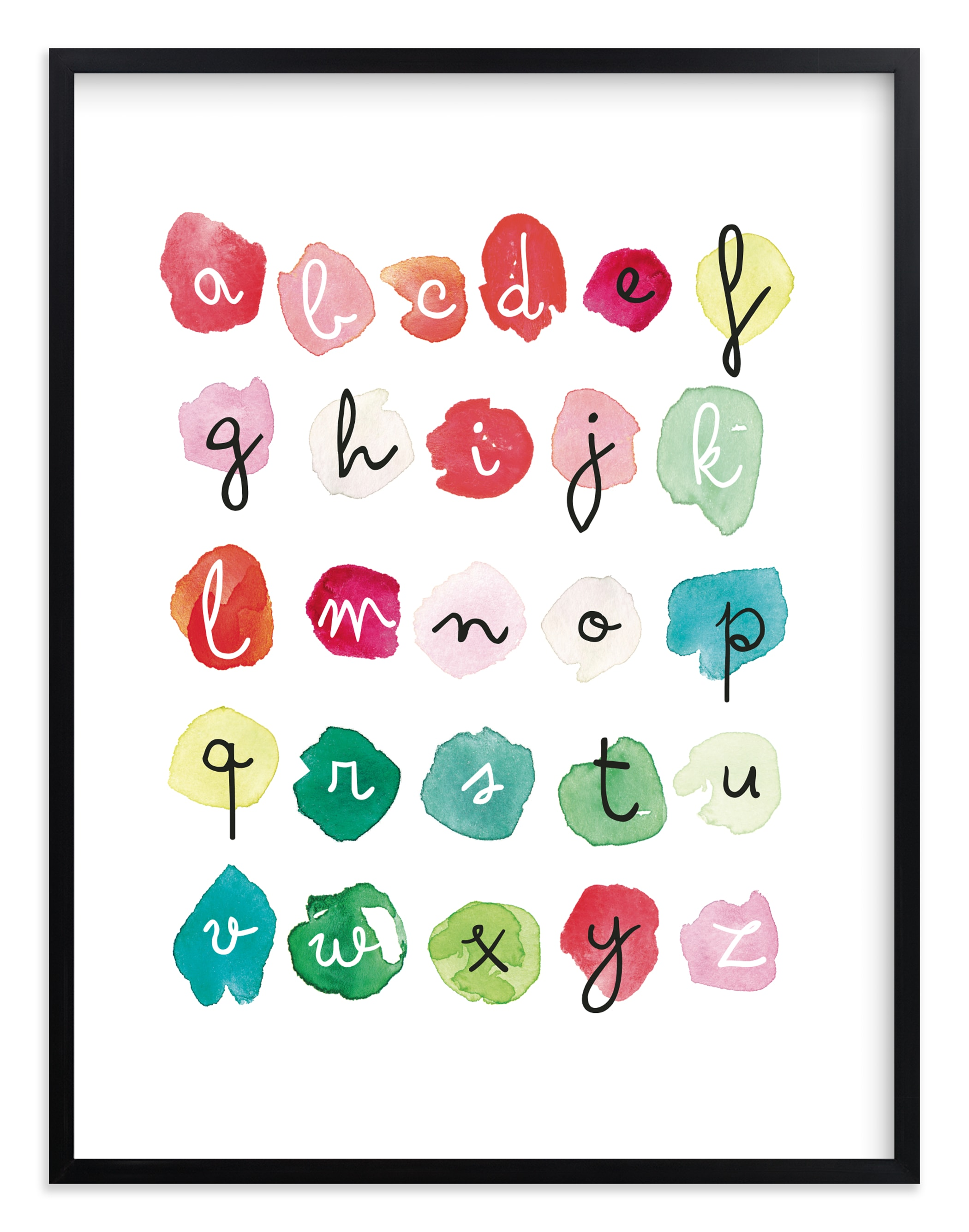 """Alpha Dots"" - Limited Edition Art Print by Kelly Ventura in beautiful frame options and a variety of sizes."