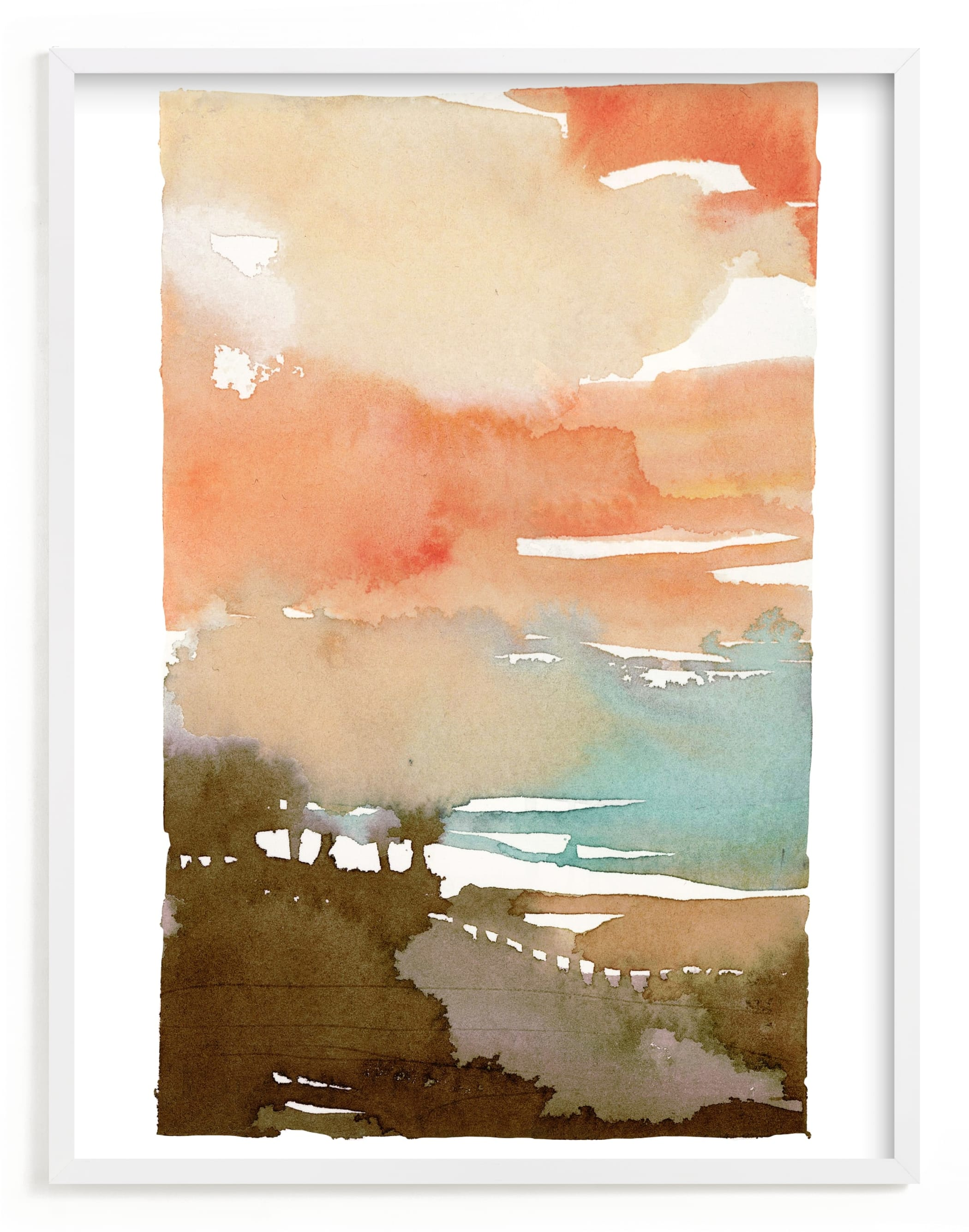 """""""Sunset Fade No 2"""" - Limited Edition Art Print by Kelly Ventura in beautiful frame options and a variety of sizes."""