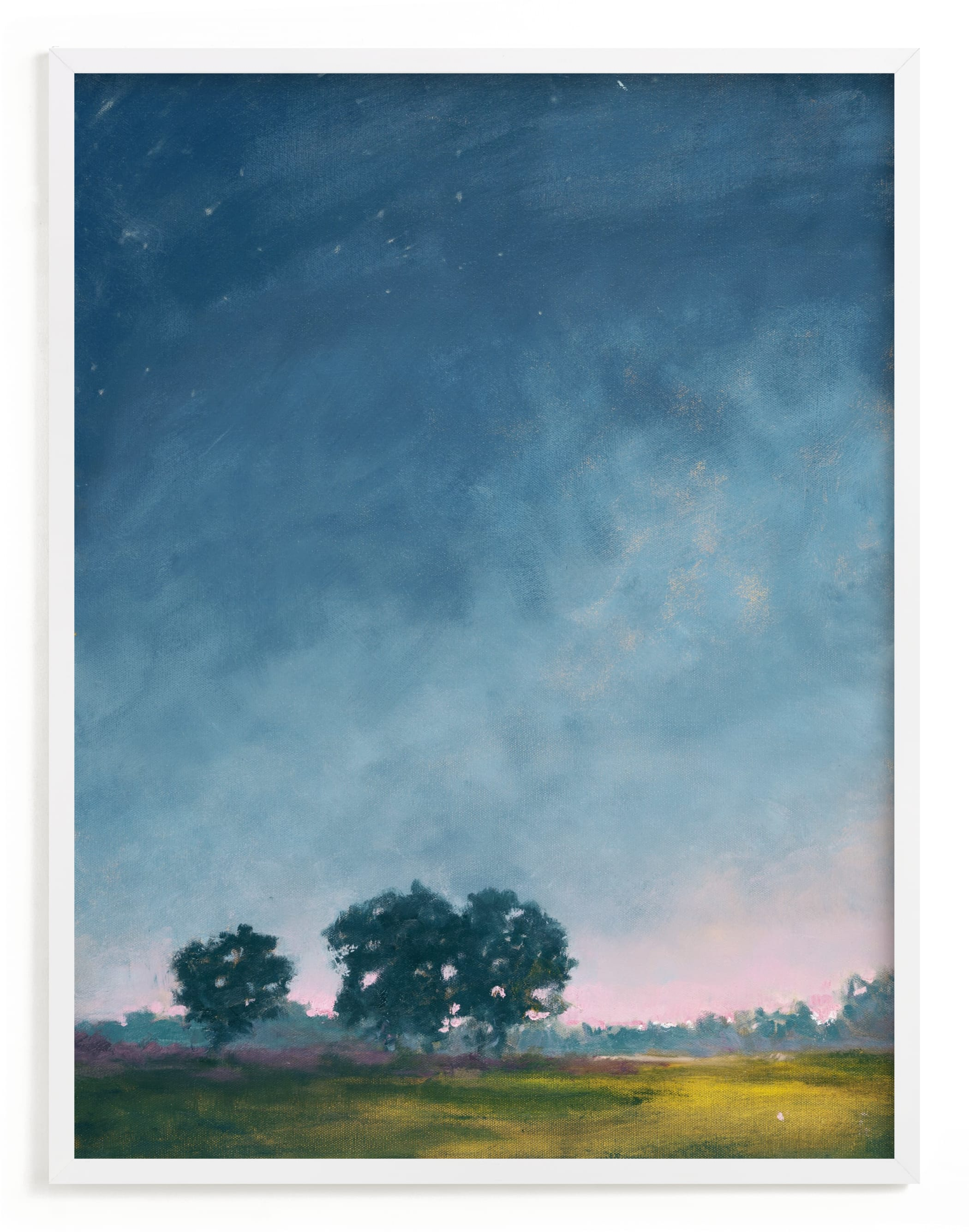 """""""Twilight"""" - Limited Edition Art Print by Stephanie Goos Johnson in beautiful frame options and a variety of sizes."""