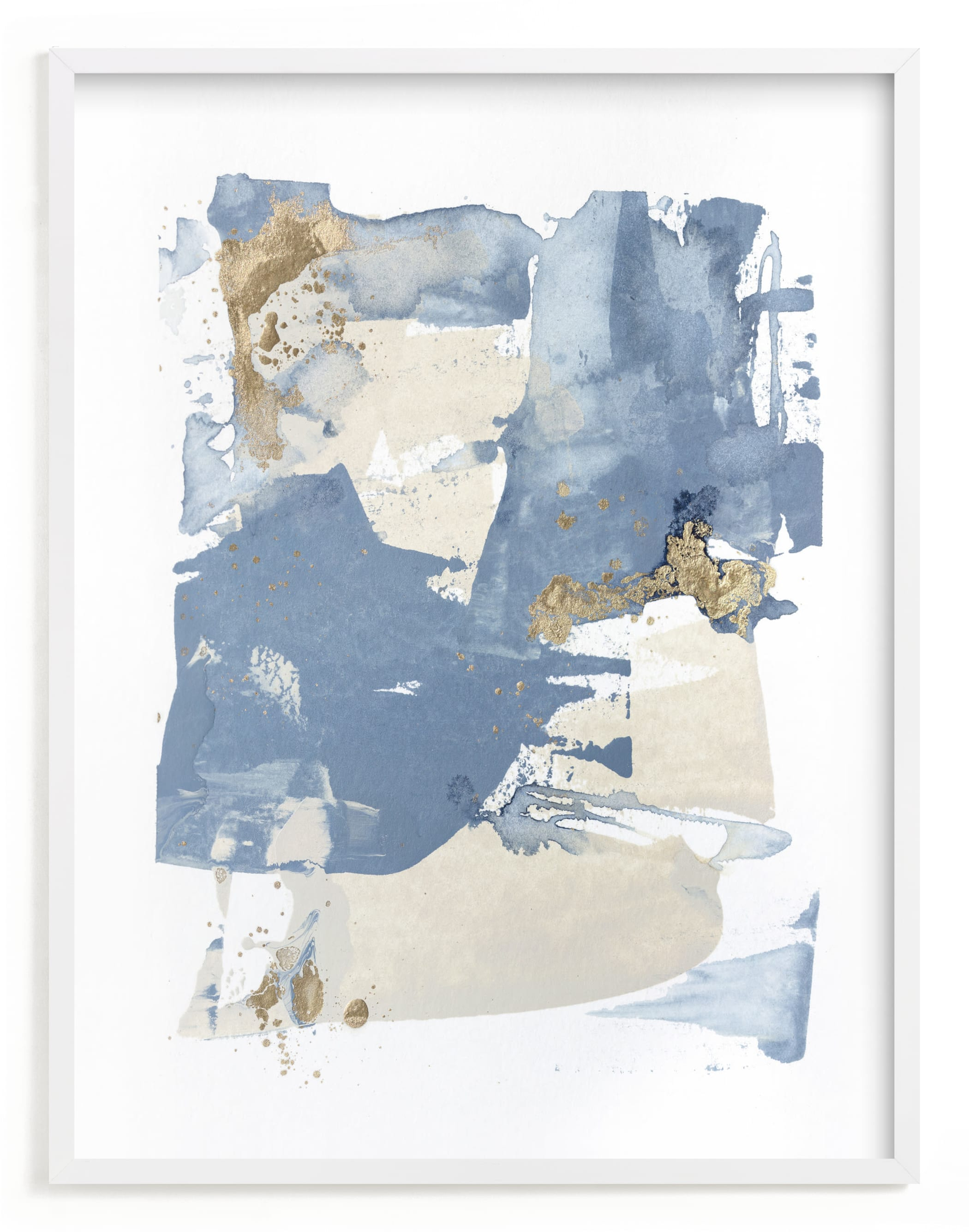 """""""On the Rocks No. 2"""" - Limited Edition Art Print by Julia Contacessi in beautiful frame options and a variety of sizes."""