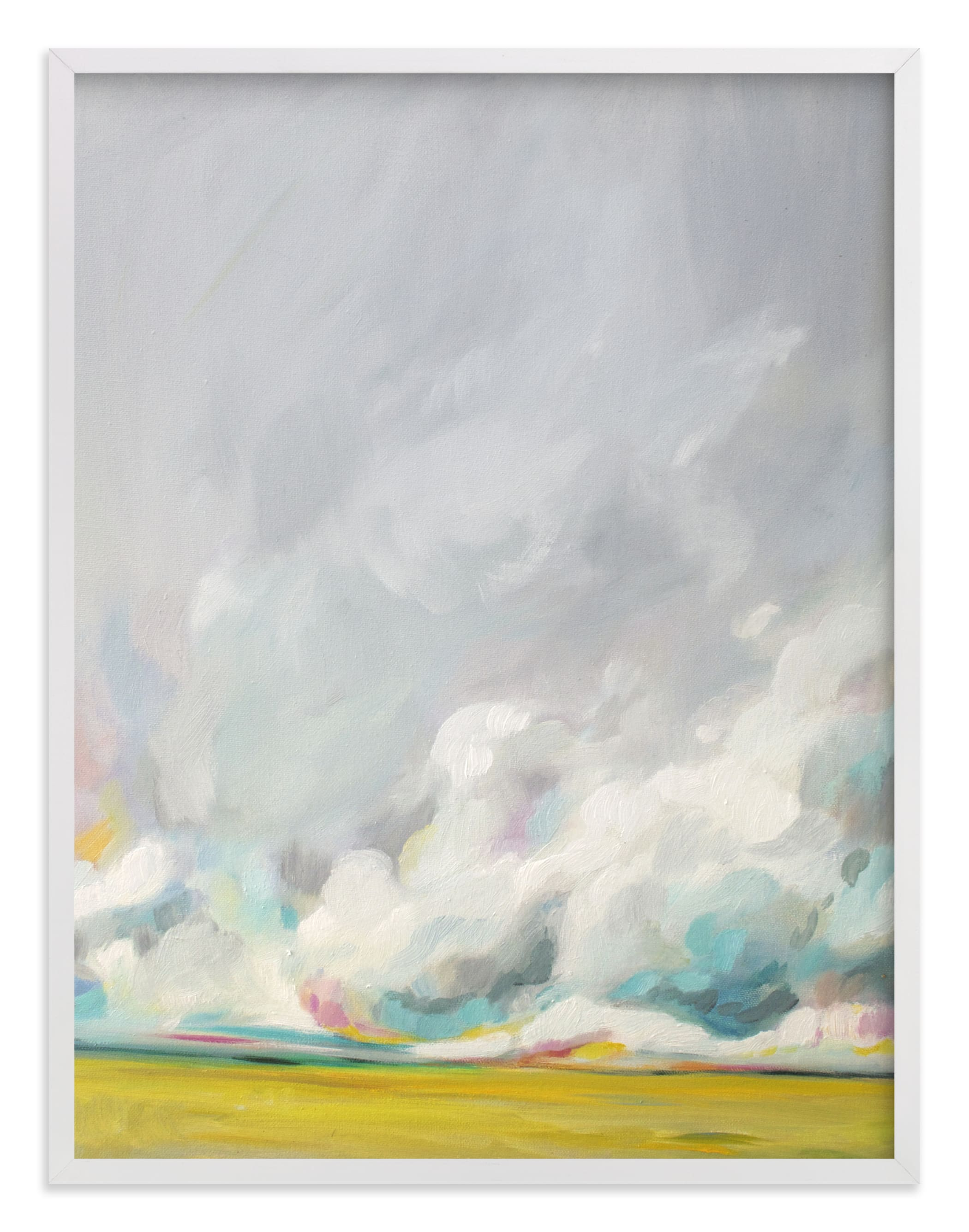 """""""Mid-summertime"""" - Limited Edition Art Print by Emily Jeffords in beautiful frame options and a variety of sizes."""