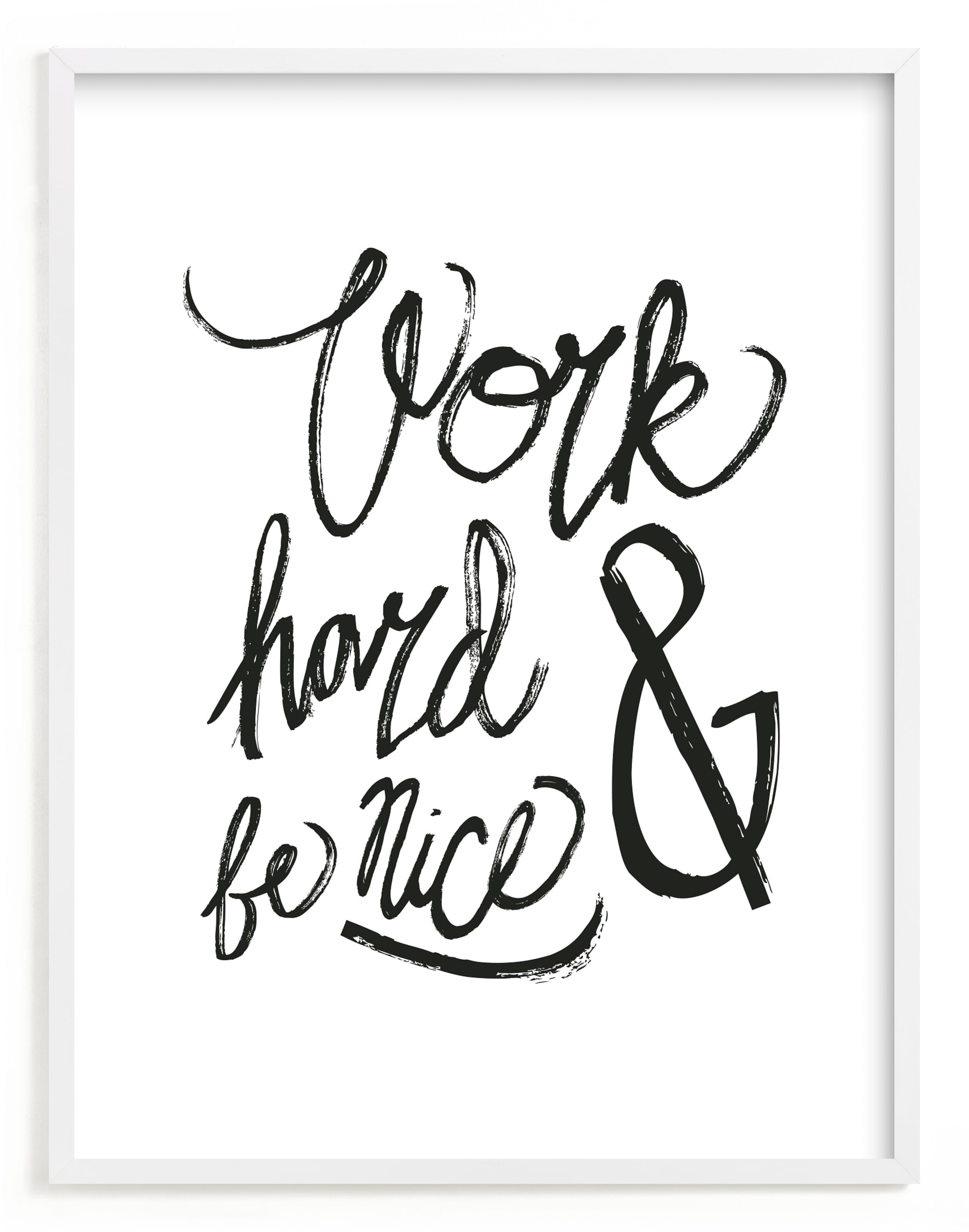 """""""Nice Work"""" - Limited Edition Art Print by Heather Francisco in beautiful frame options and a variety of sizes."""