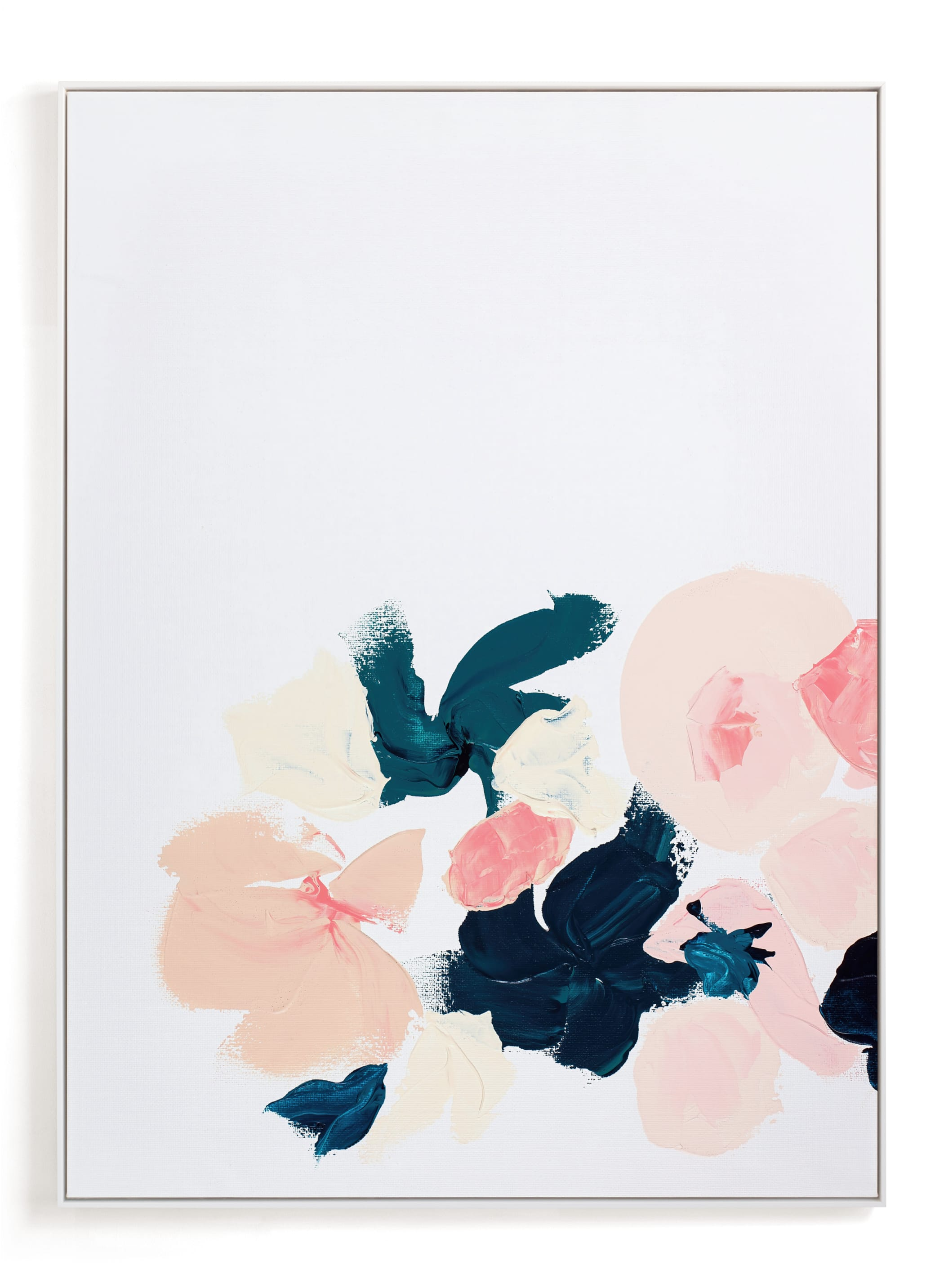 """""""January Botanical Abstract Print"""" - Limited Edition Art Print by Caryn Owen in beautiful frame options and a variety of sizes."""