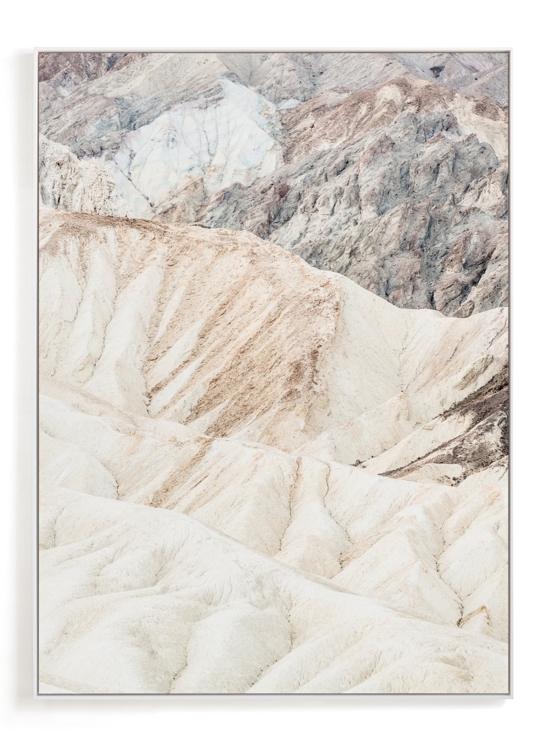 """""""White Canyon"""" - Limited Edition Art Print by Kamala Nahas in beautiful frame options and a variety of sizes."""