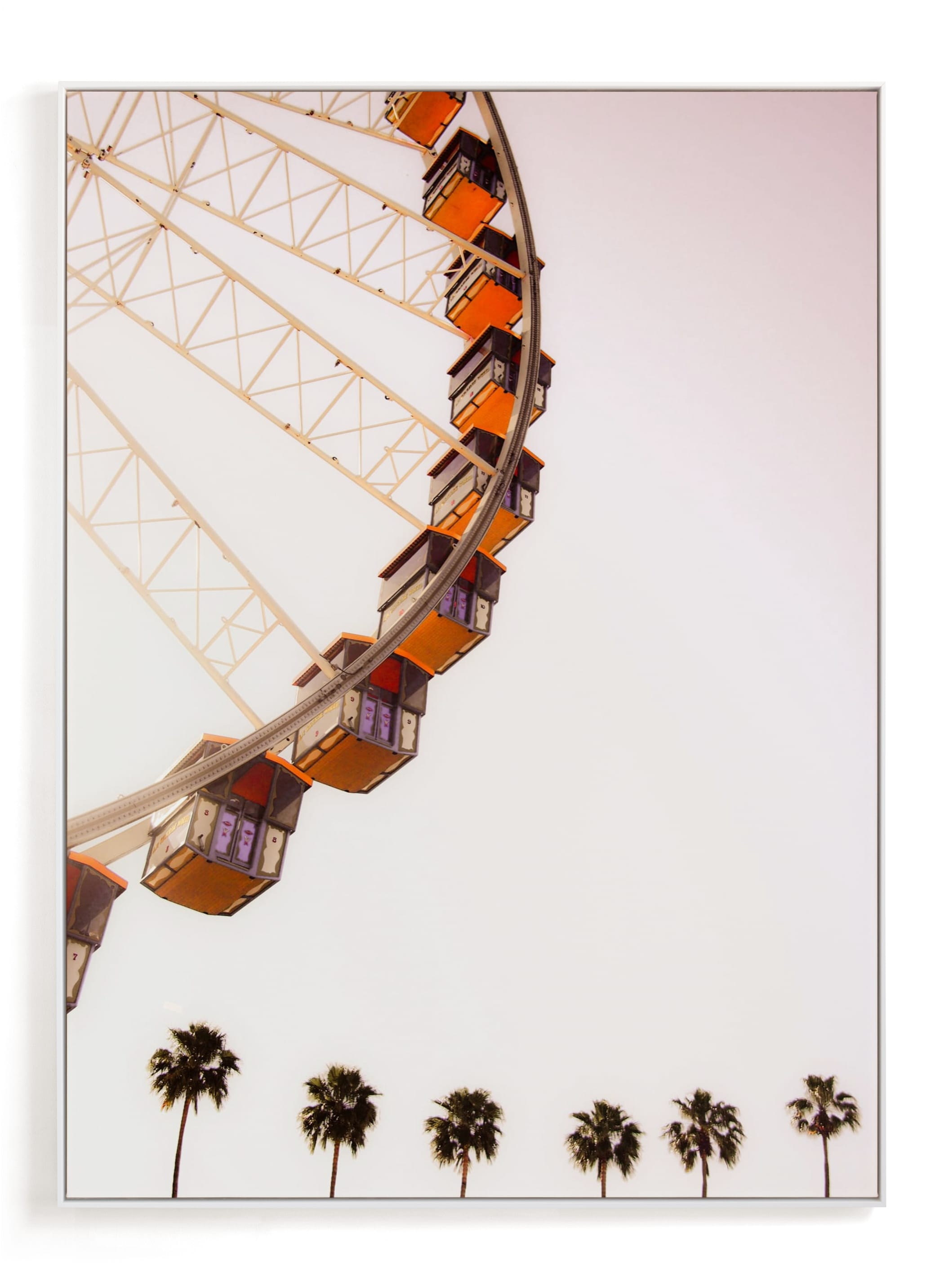 """California Dreams"" - Limited Edition Art Print by Kitty Seeber in beautiful frame options and a variety of sizes."