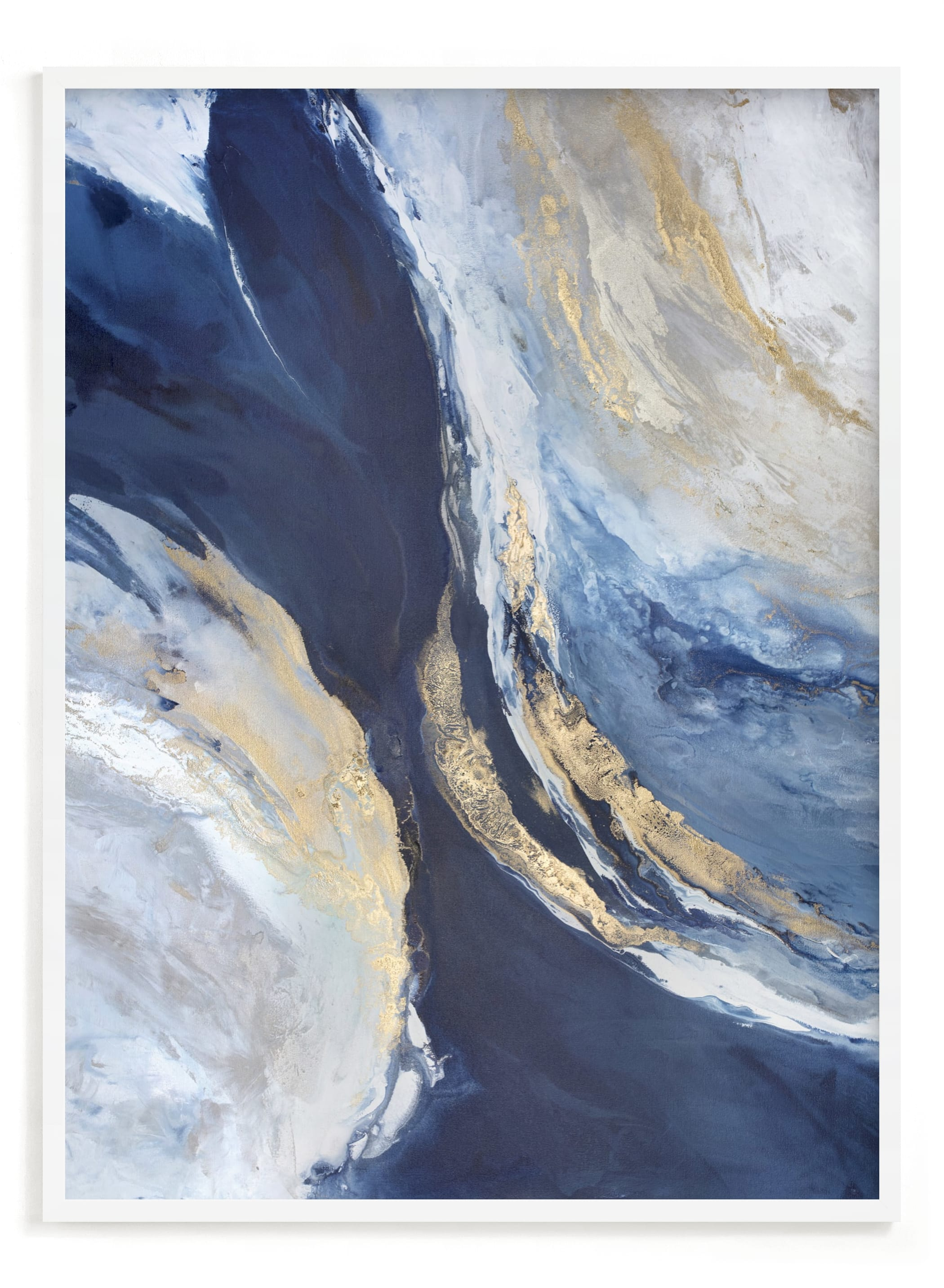 """""""Dreaming in Light"""" - Limited Edition Art Print by Julia Contacessi in beautiful frame options and a variety of sizes."""