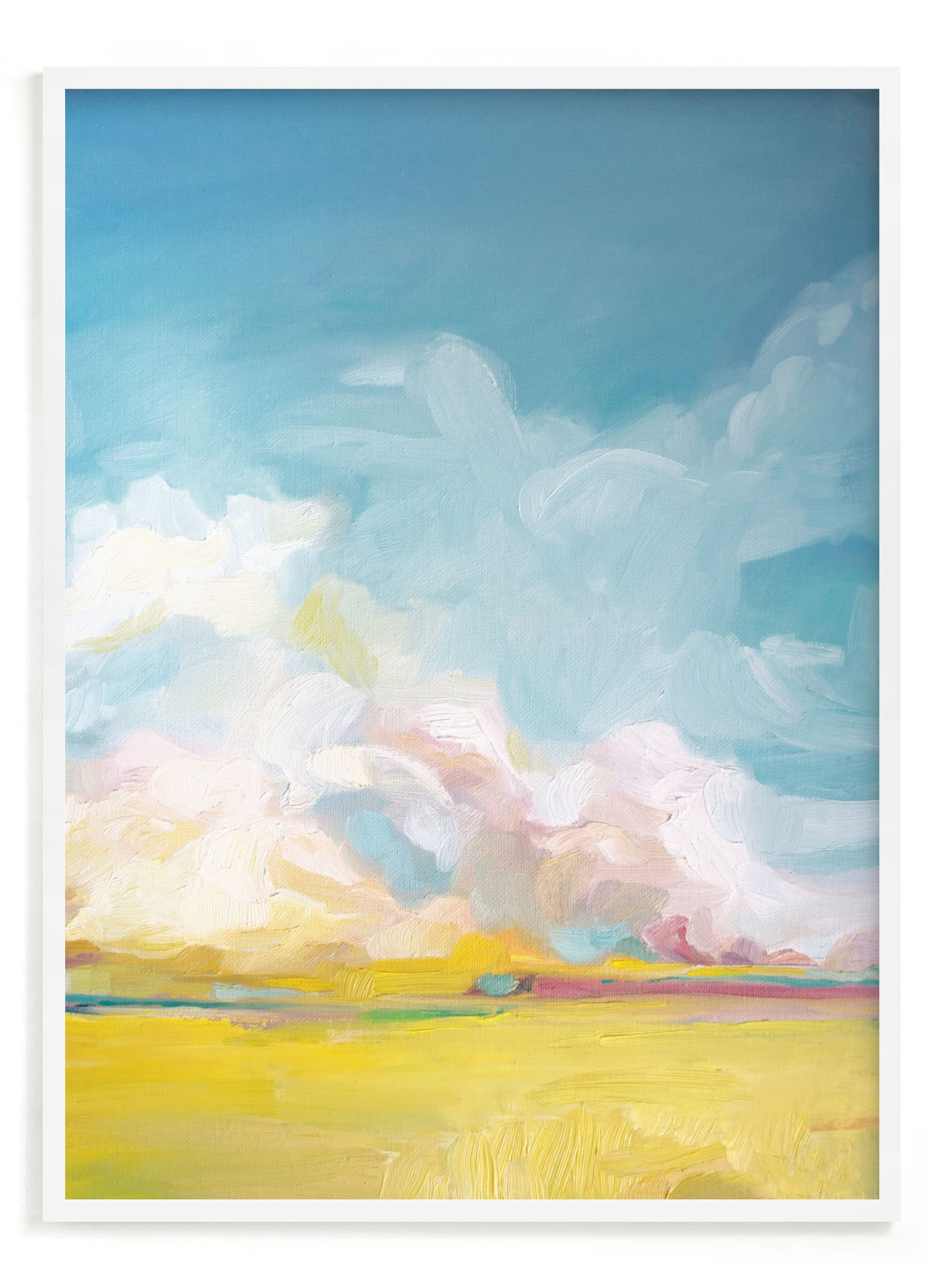 """""""Summer Winds"""" - Limited Edition Art Print by Emily Jeffords in beautiful frame options and a variety of sizes."""