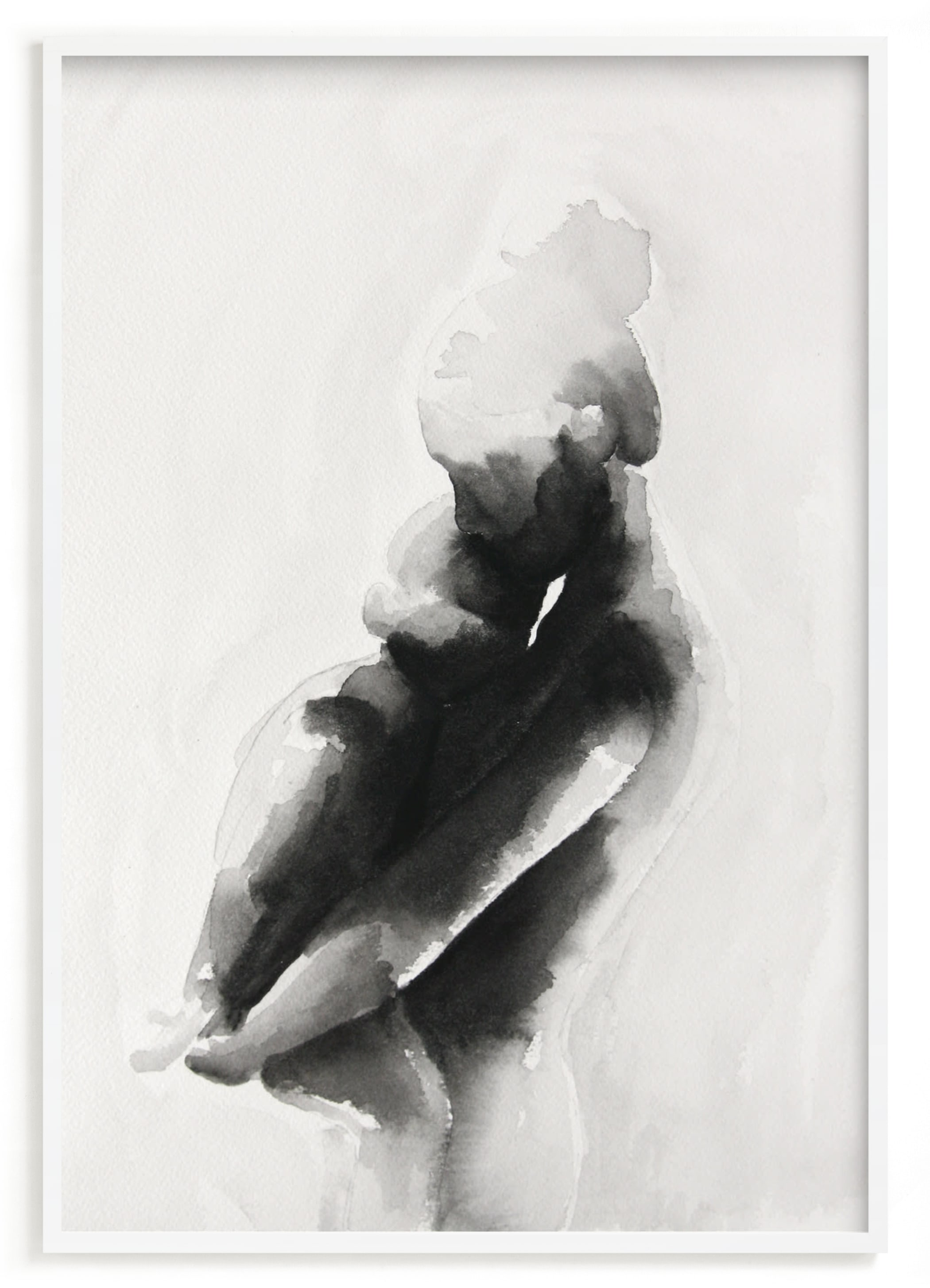 """""""mother embrace"""" - Limited Edition Art Print by Kate Ahn in beautiful frame options and a variety of sizes."""