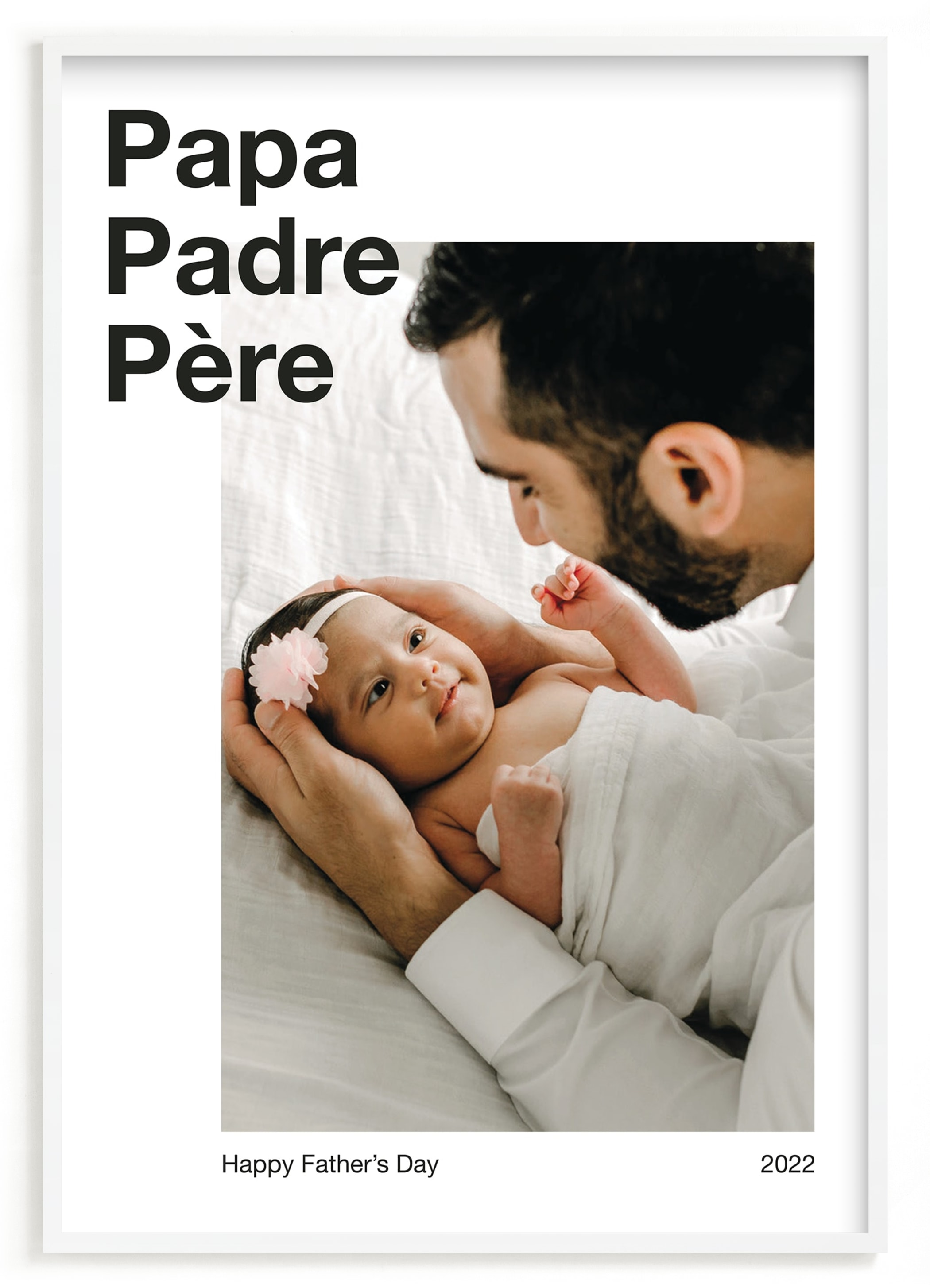 """""""Best Dad"""" - Custom Photo Art Print by JoAnn Jinks in beautiful frame options and a variety of sizes."""