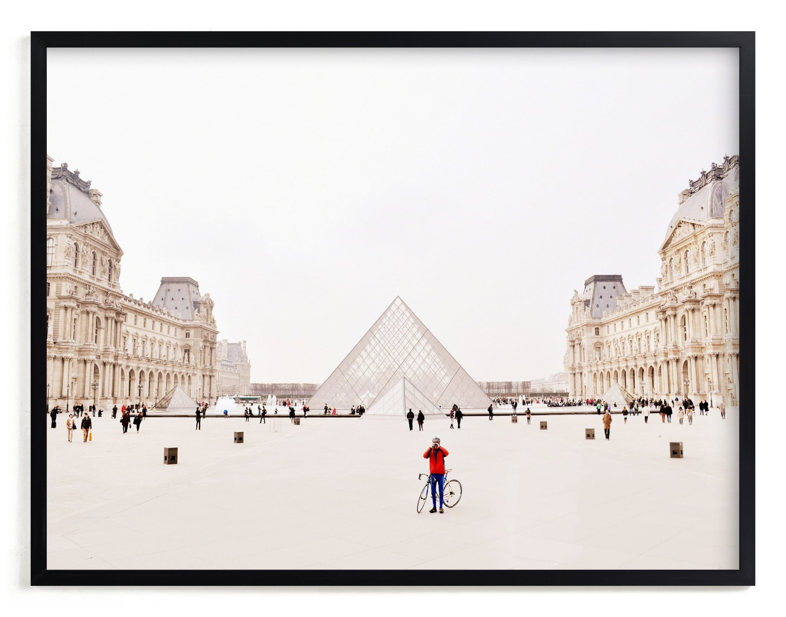 """""""Men in Red"""" - Limited Edition Art Print by Kate Baird in beautiful frame options and a variety of sizes."""