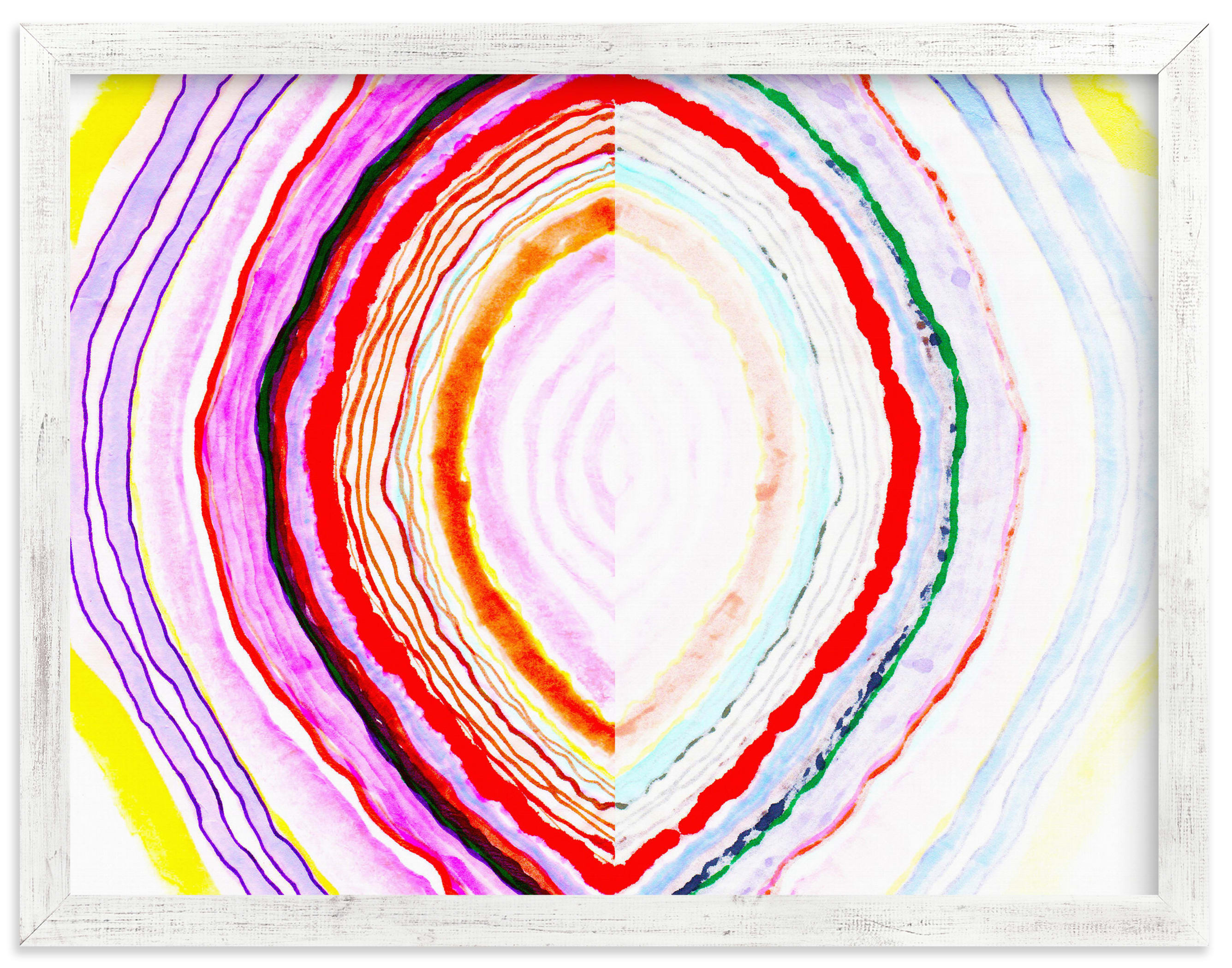 """""""Great with Agate No 1"""" - Limited Edition Art Print by HAPI ART in beautiful frame options and a variety of sizes."""
