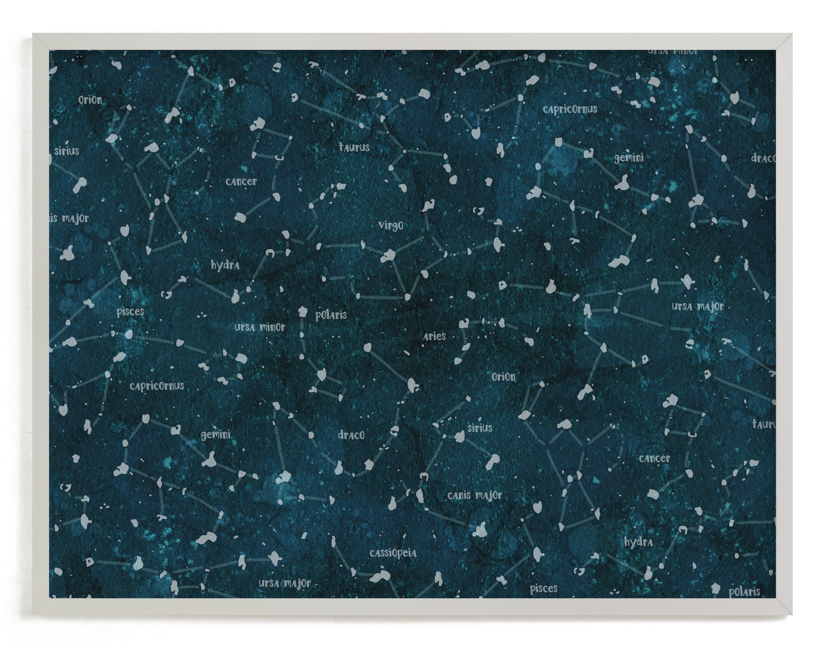 """""""Deep Space"""" - Limited Edition Art Print by Meggy Masters in beautiful frame options and a variety of sizes."""