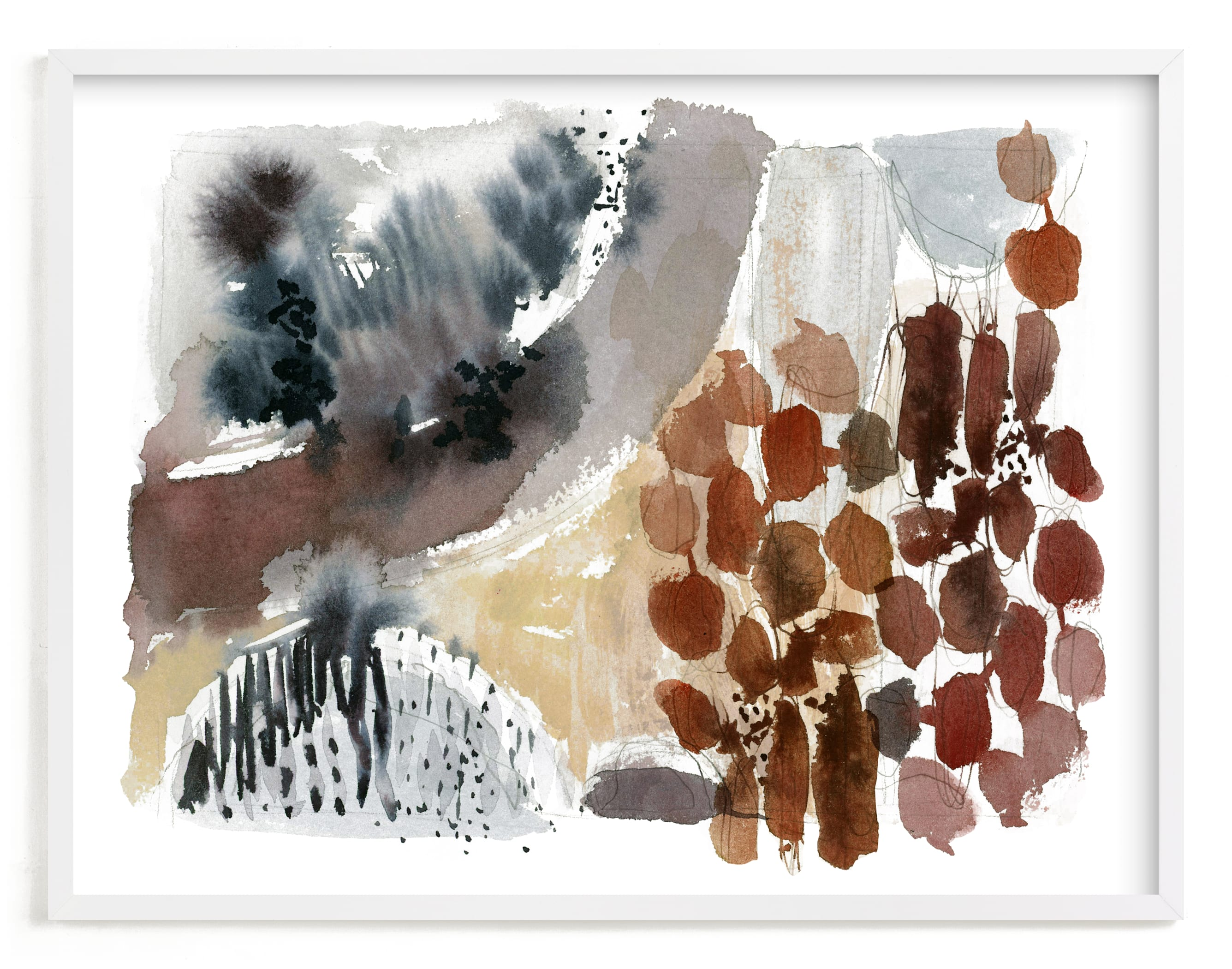"""""""Hushed No. 1"""" - Limited Edition Art Print by Kelly Ventura in beautiful frame options and a variety of sizes."""