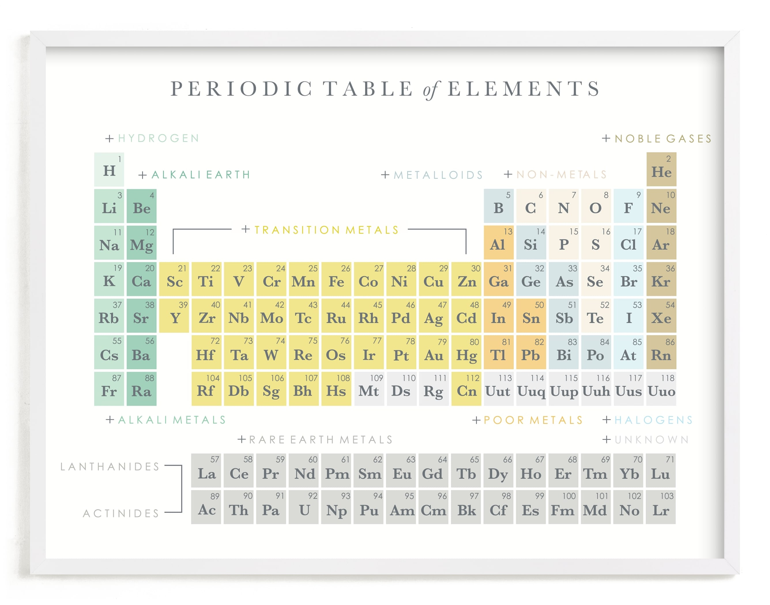 """""""Elemental"""" - Limited Edition Art Print by Marabou Design in beautiful frame options and a variety of sizes."""
