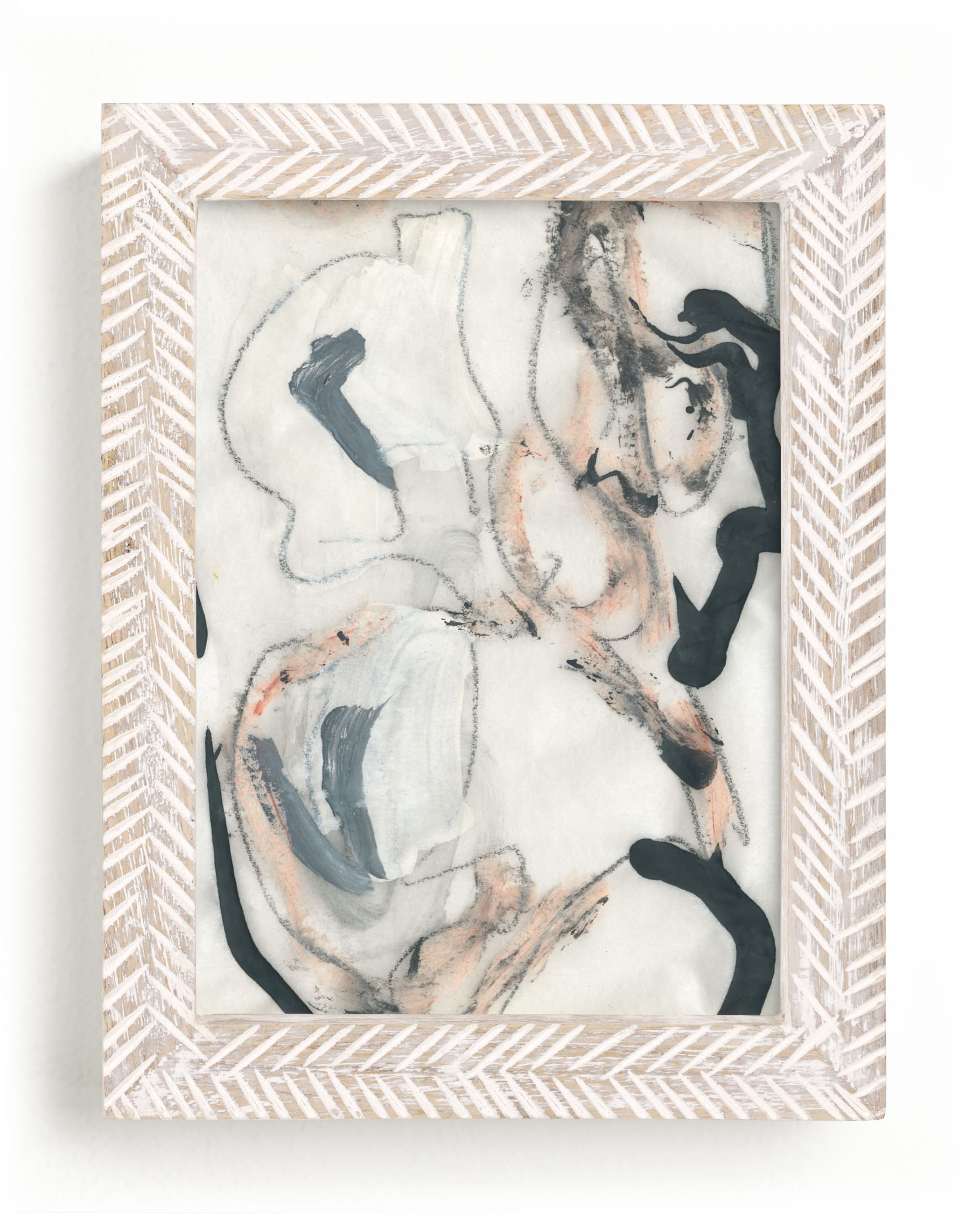 """""""Southern Cotton Series 4"""" - Limited Edition Art Print by Angela Simeone in beautiful frame options and a variety of sizes."""