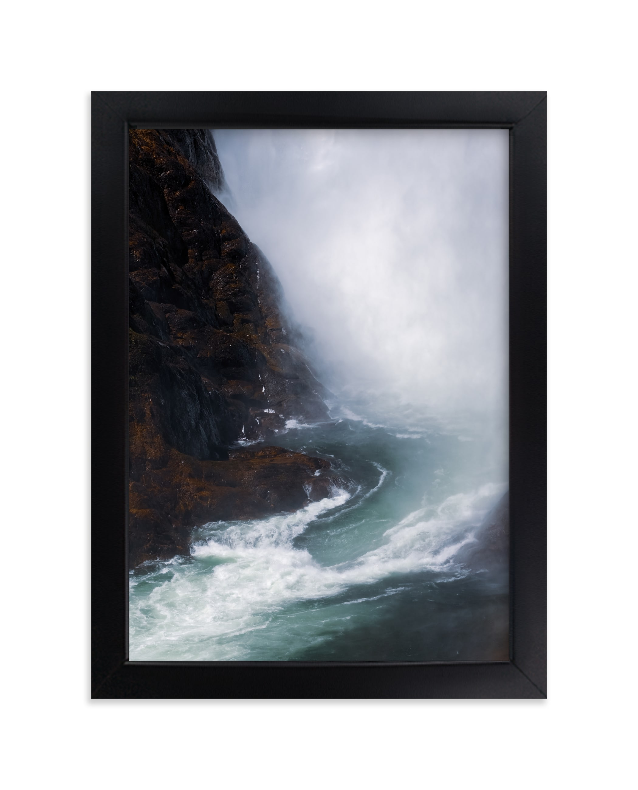 """""""Emerald Mist"""" - Limited Edition Art Print by KIMBERLY SMITH in beautiful frame options and a variety of sizes."""