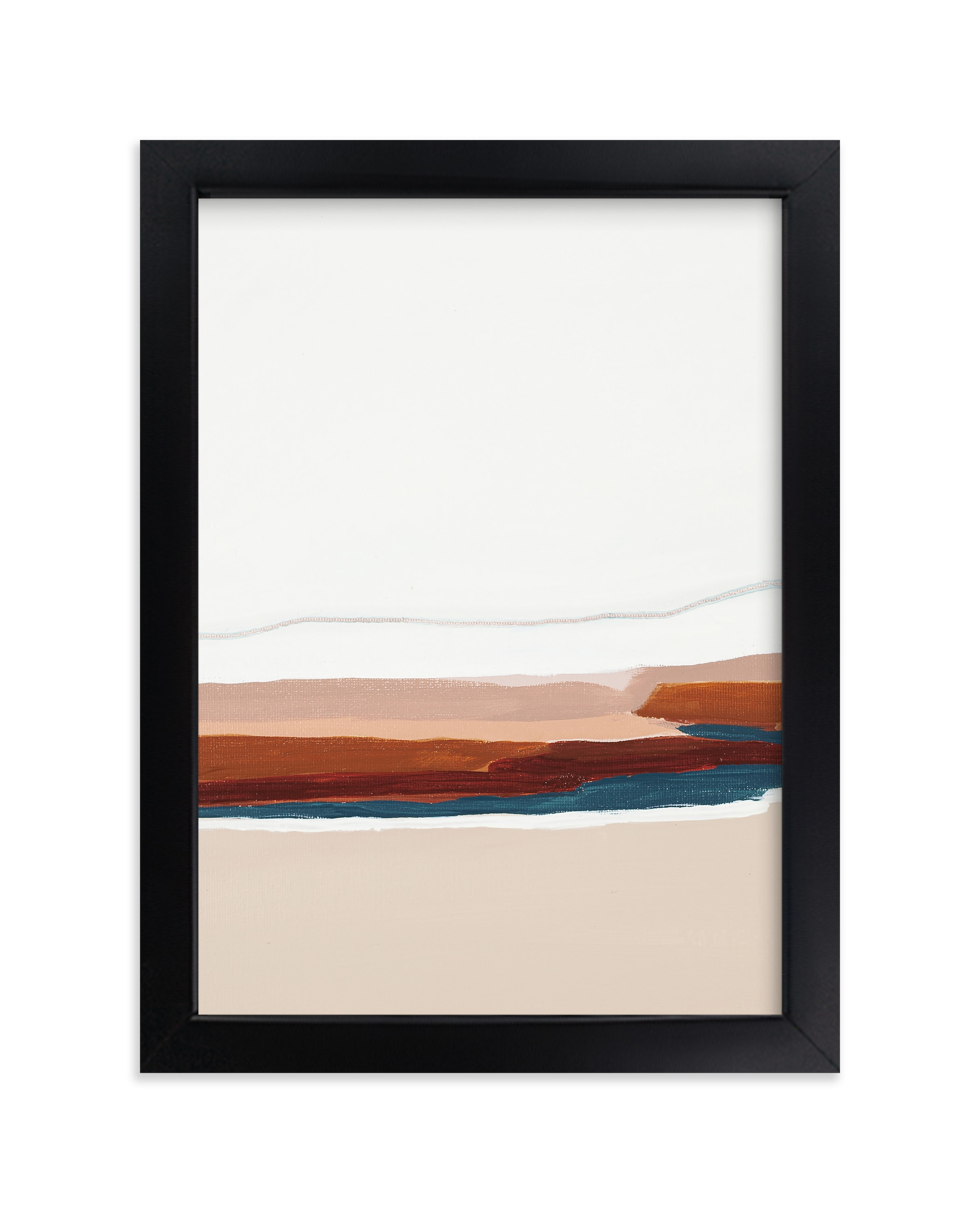 """""""Warm Pacific Seascape Diptych II"""" - Limited Edition Art Print by Caryn Owen in beautiful frame options and a variety of sizes."""