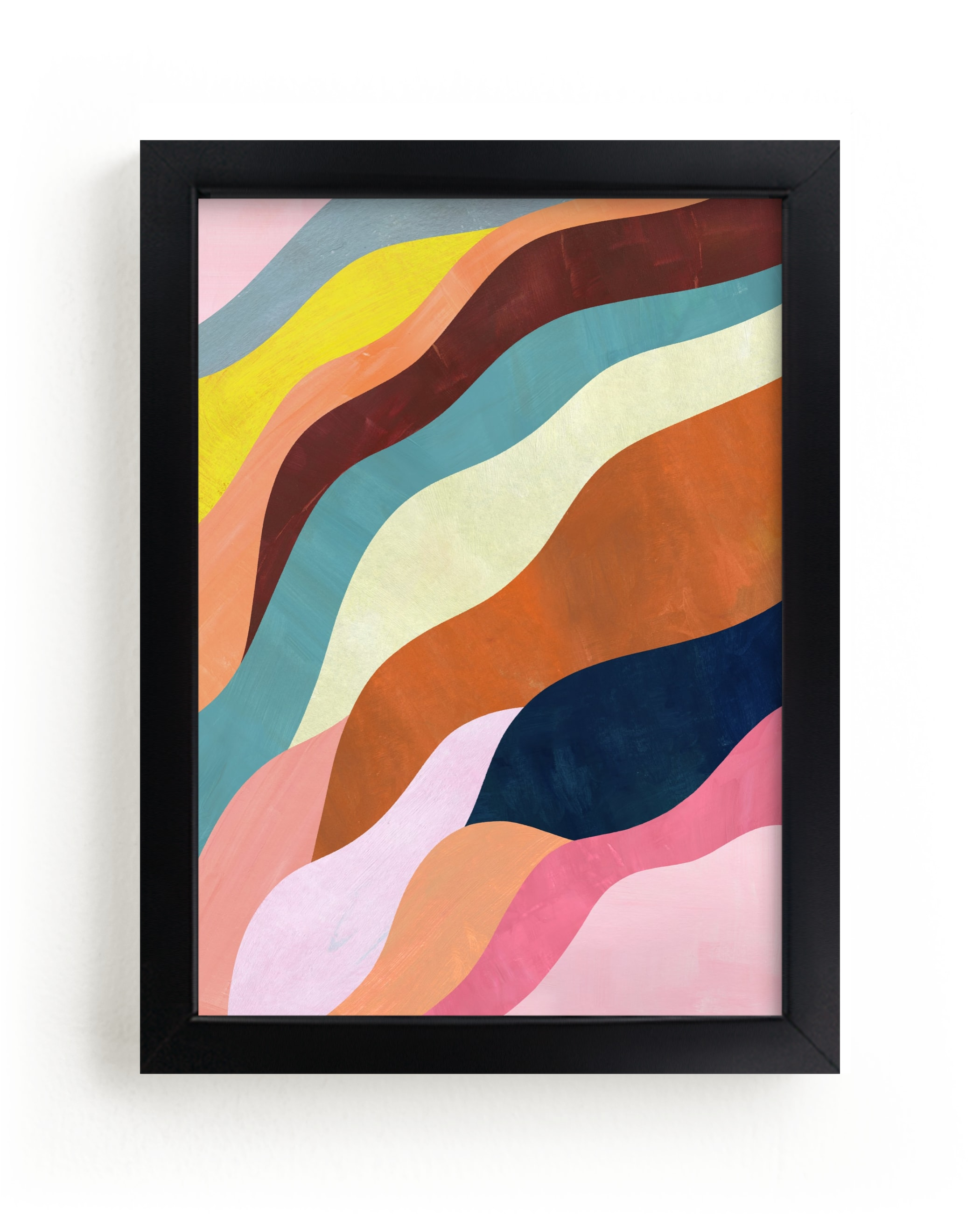 """""""Natural Fluctuation II"""" - Limited Edition Art Print by melanie mikecz in beautiful frame options and a variety of sizes."""