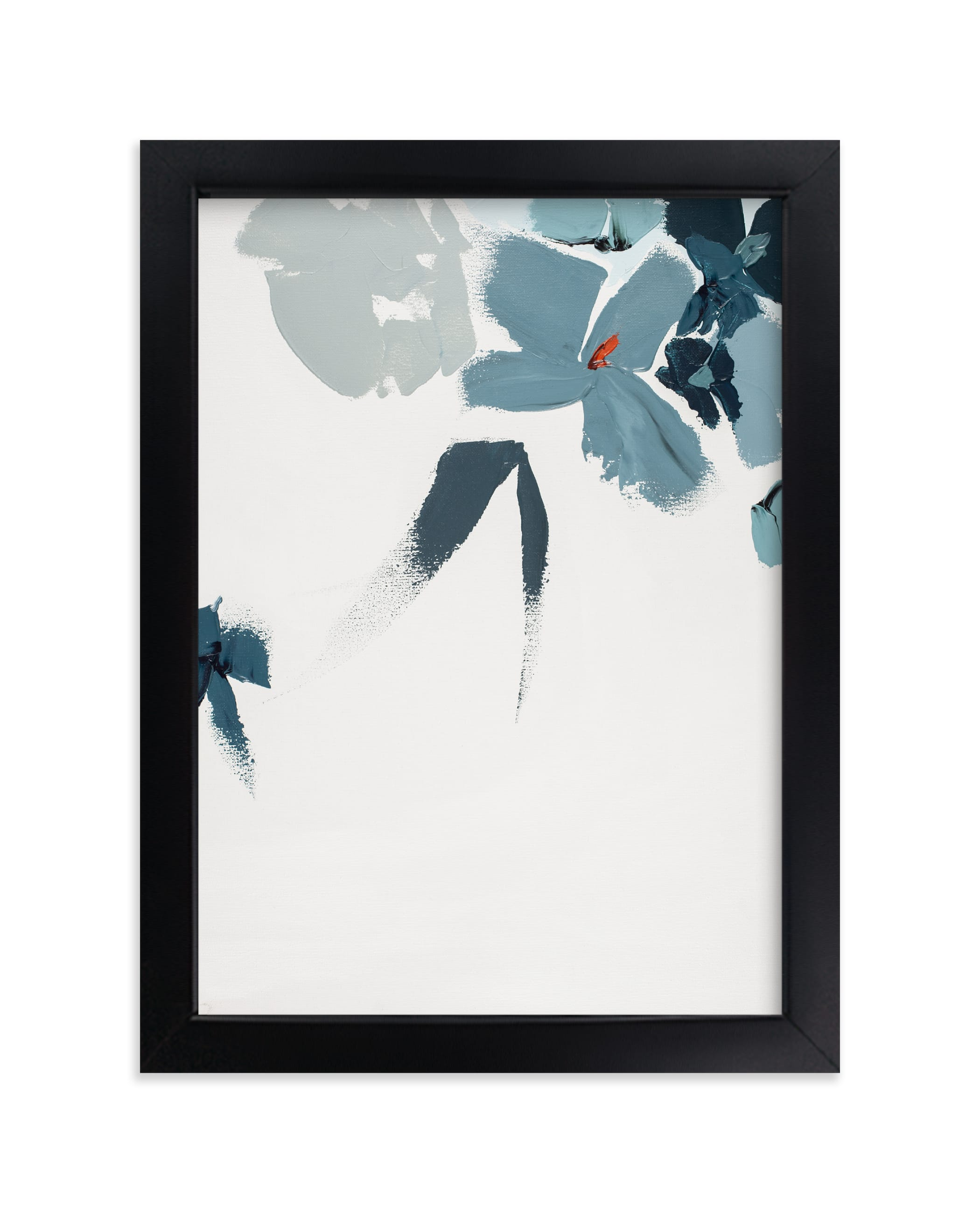 """Blue Garden Diptych II"" - Limited Edition Art Print by Caryn Owen in beautiful frame options and a variety of sizes."
