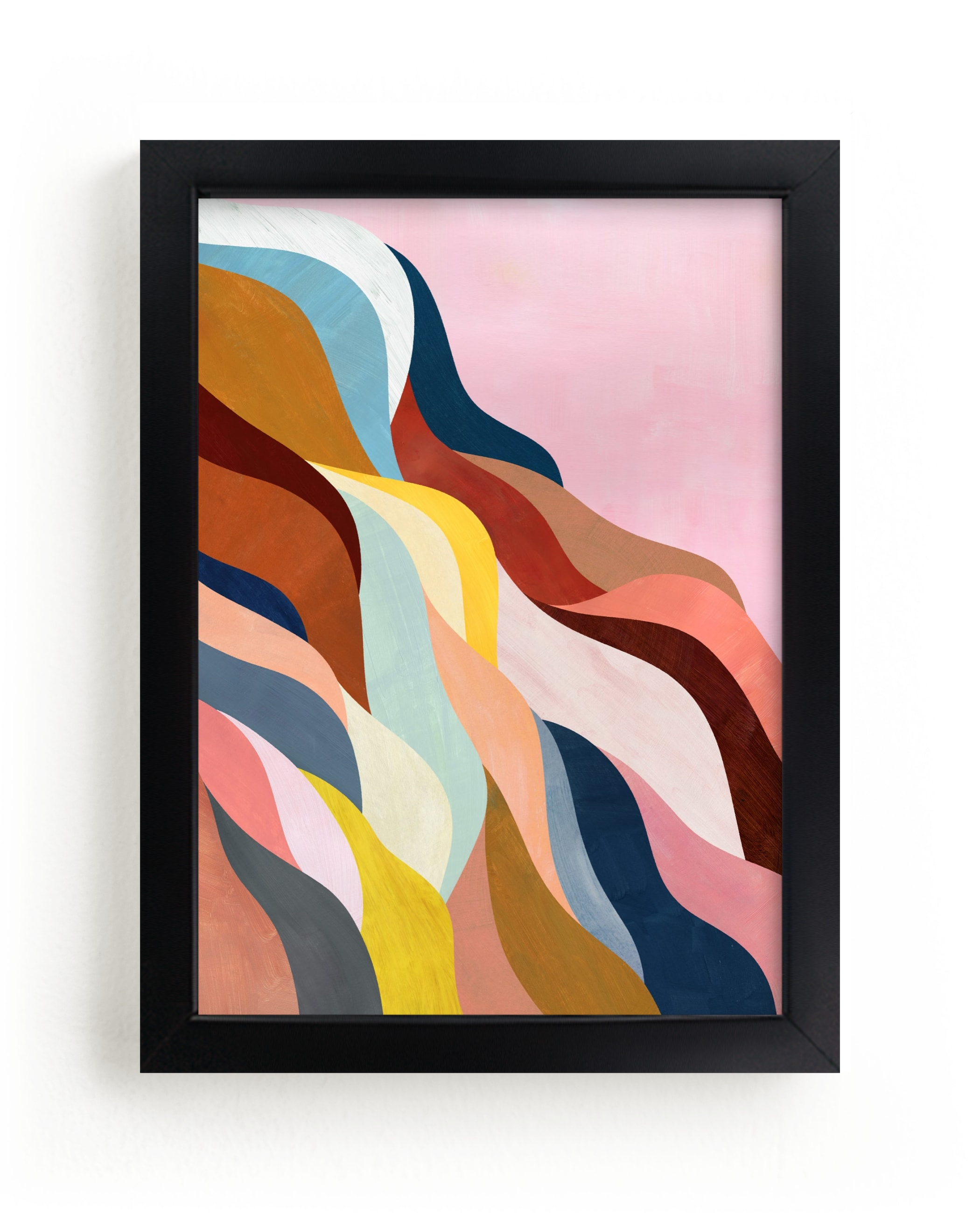 """""""Natural Fluctuation I"""" - Limited Edition Art Print by melanie mikecz in beautiful frame options and a variety of sizes."""