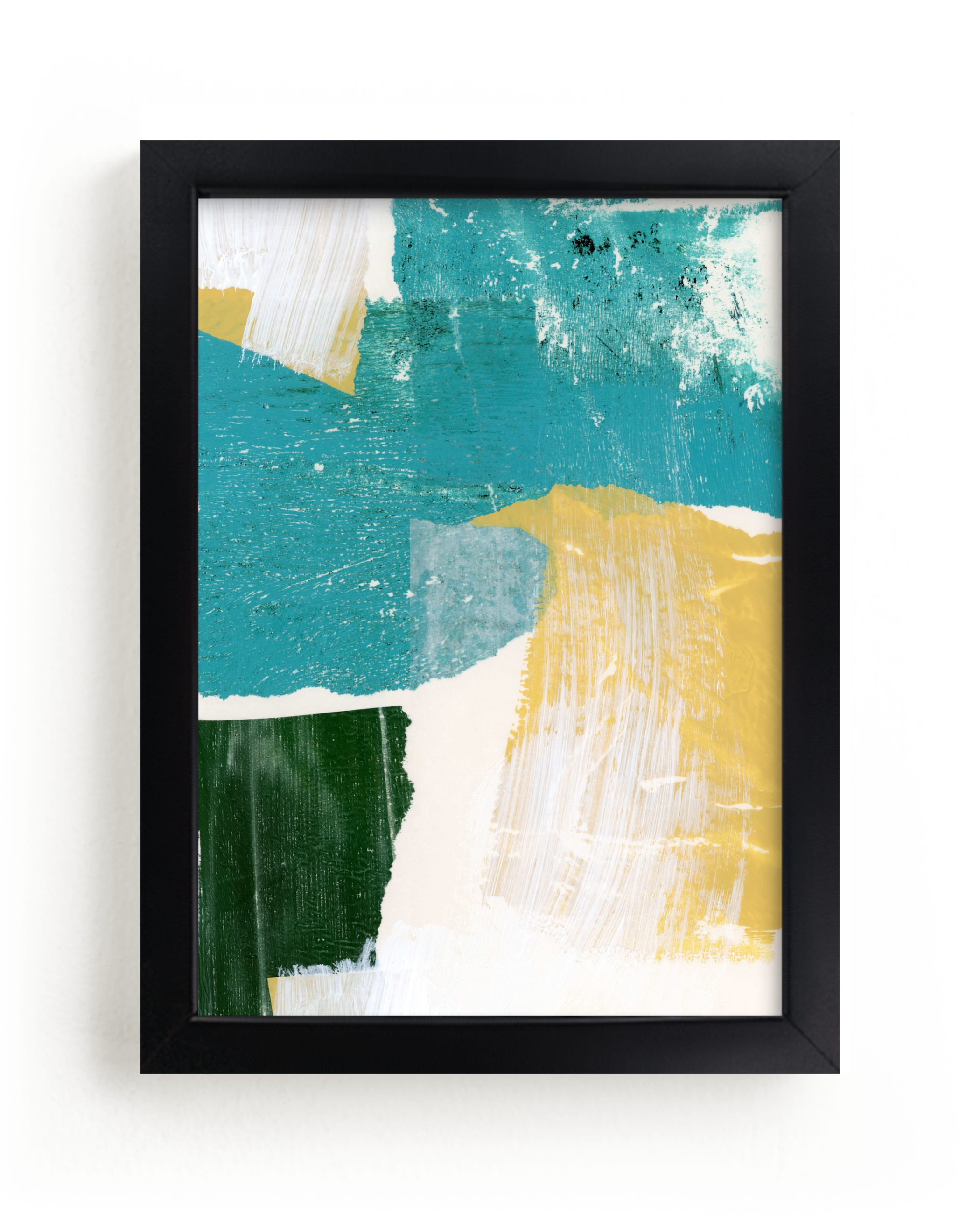 """""""To The Sea I"""" - Limited Edition Art Print by sue prue in beautiful frame options and a variety of sizes."""