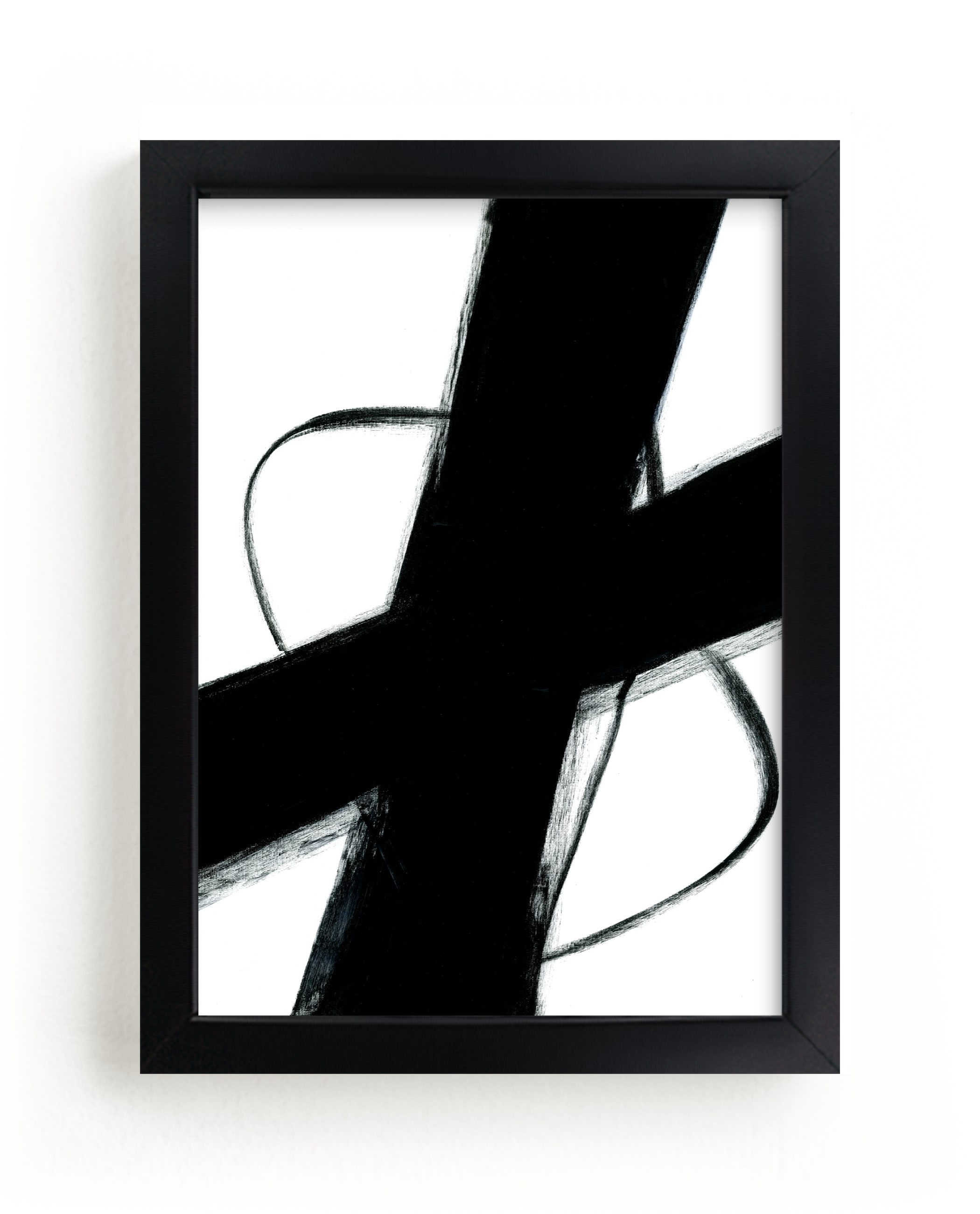 """""""Beside Myself"""" - Limited Edition Art Print by Ilana Greenberg in beautiful frame options and a variety of sizes."""