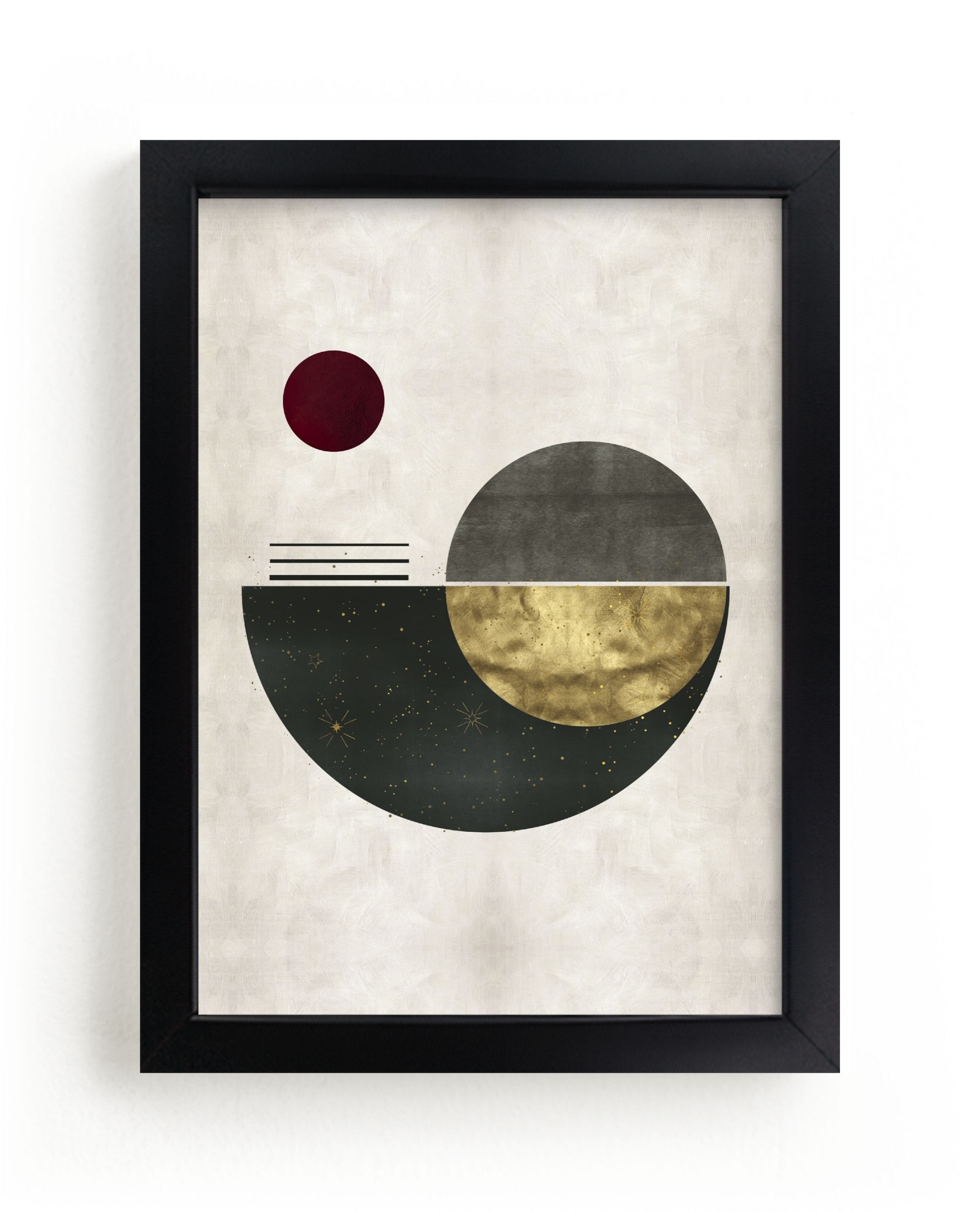 """""""The Eclipse"""" - Limited Edition Art Print by Faiza Khan in beautiful frame options and a variety of sizes."""