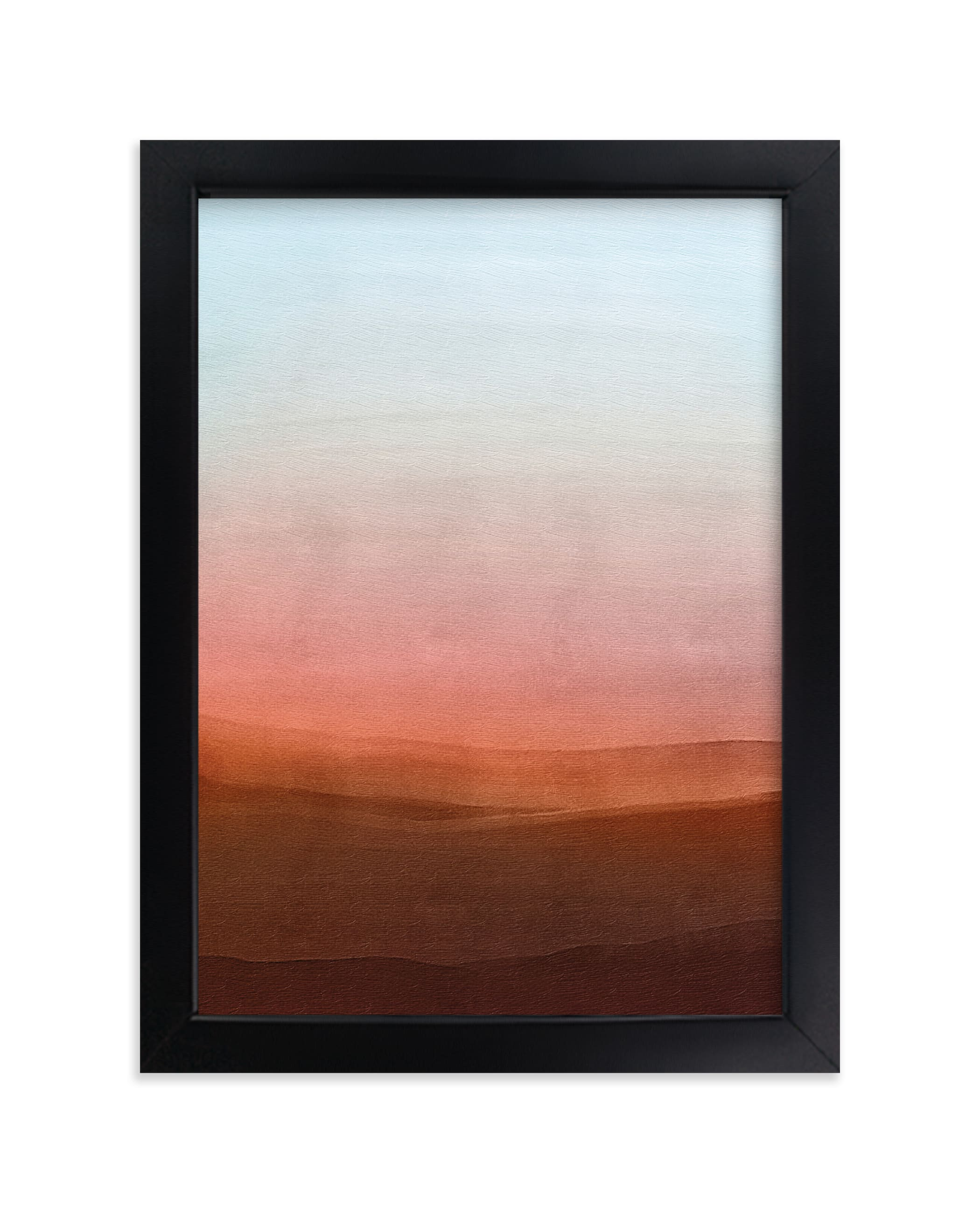 """""""Liquid Sunset I"""" - Limited Edition Art Print by Cassandra Imagines in beautiful frame options and a variety of sizes."""