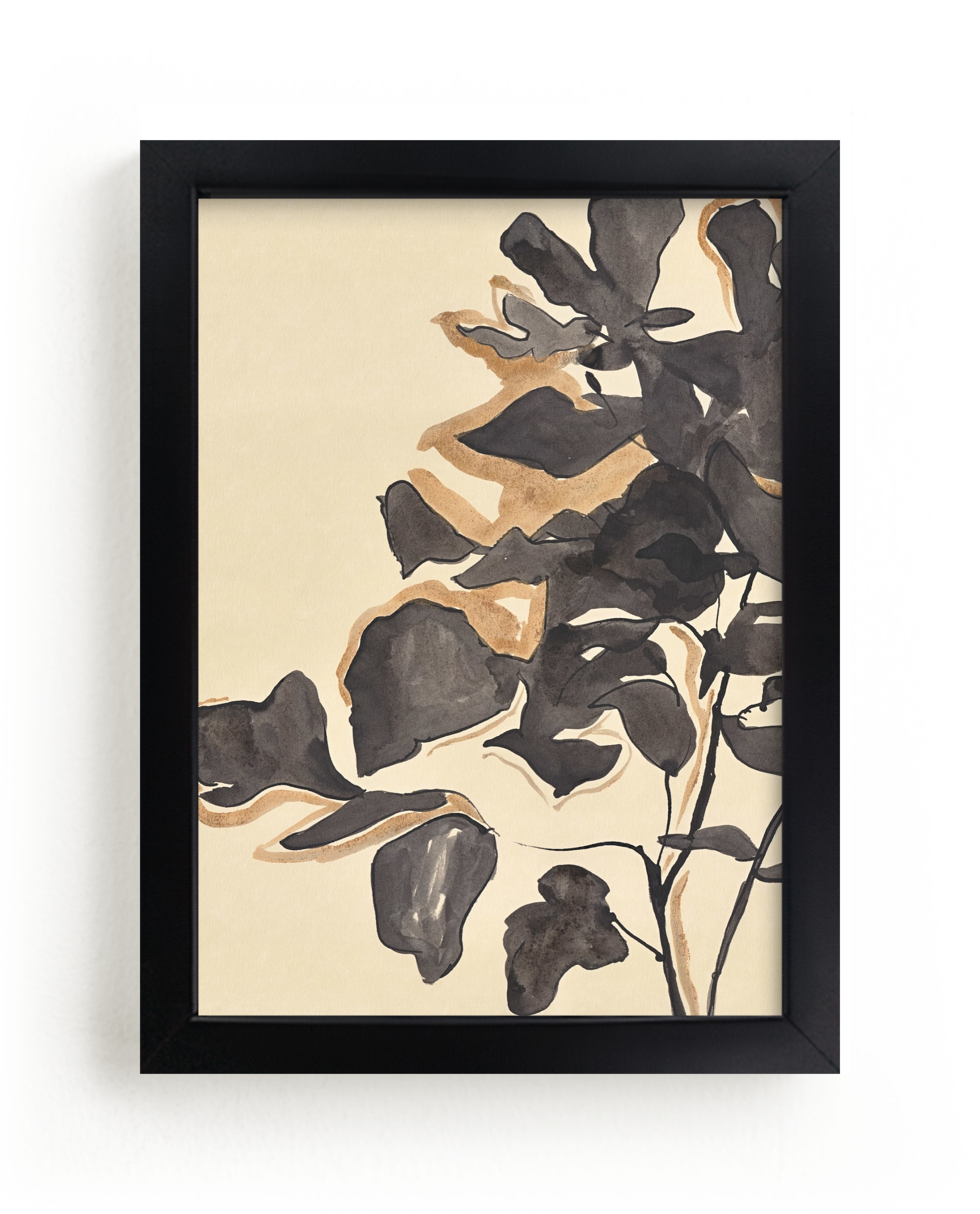 """Young Fig"" - Limited Edition Art Print by Laura Condouris in beautiful frame options and a variety of sizes."