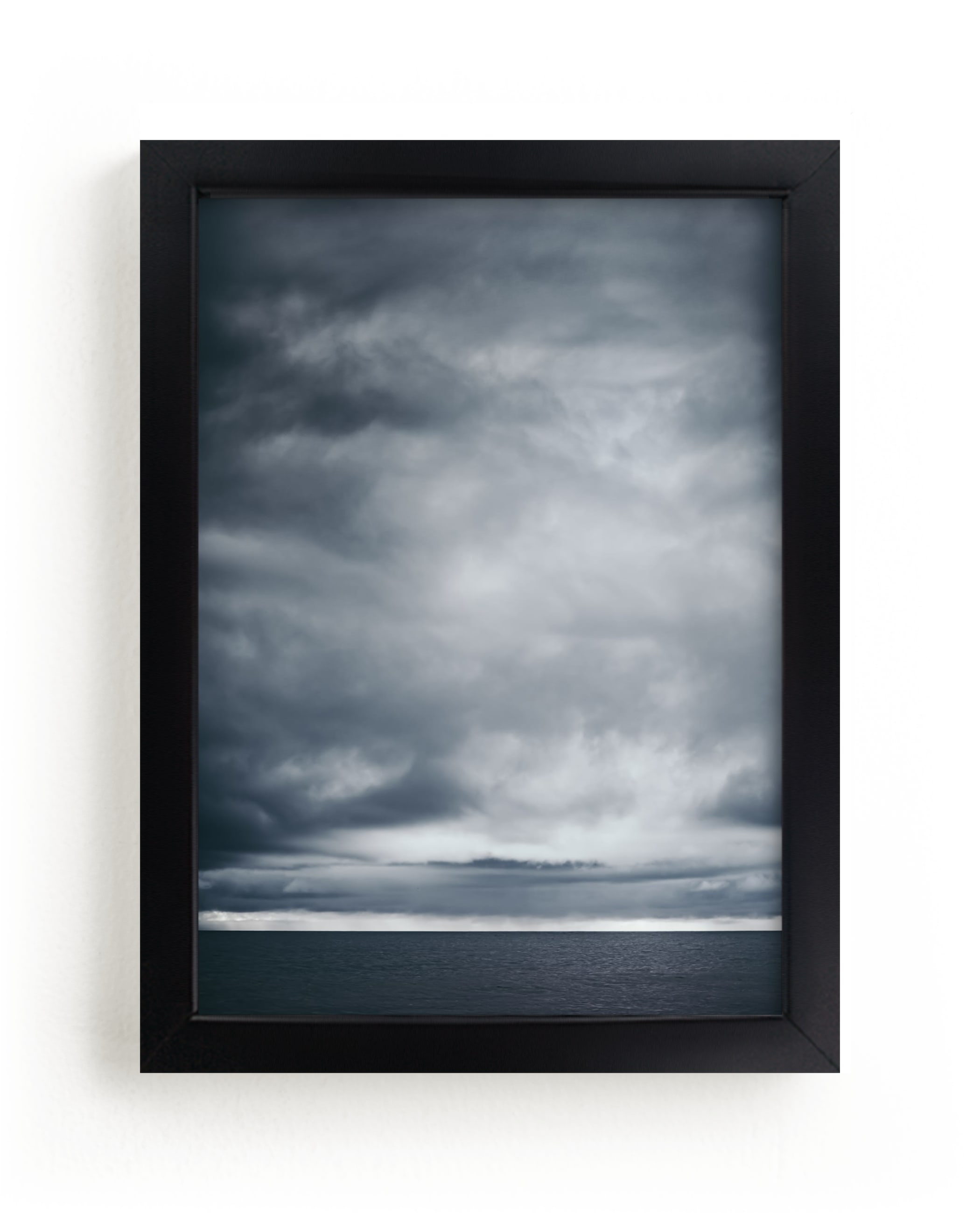 """moody blues 1"" - Limited Edition Art Print by Kamala Nahas in beautiful frame options and a variety of sizes."