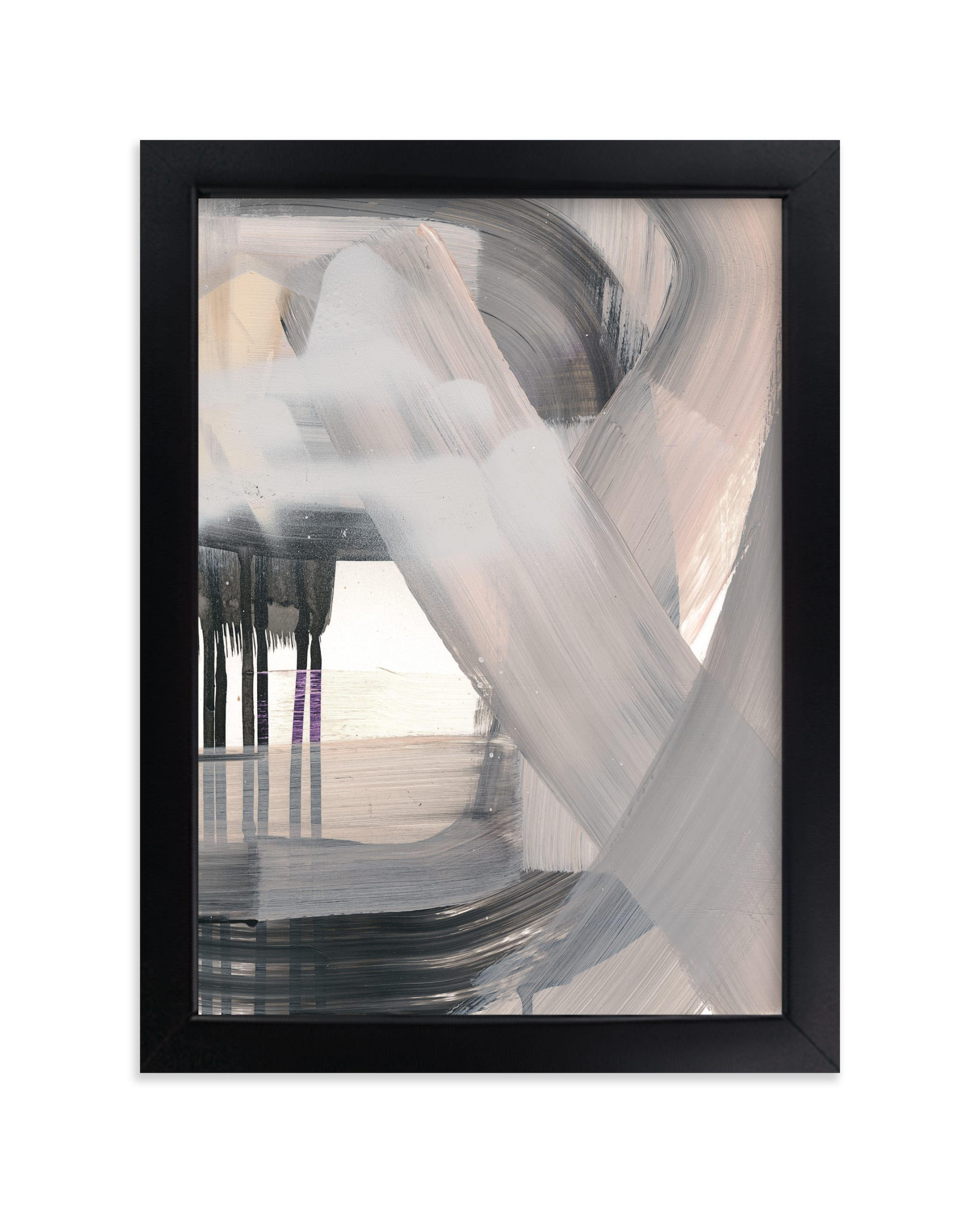 """""""Pushing Through"""" - Limited Edition Art Print by Angela Simeone in beautiful frame options and a variety of sizes."""
